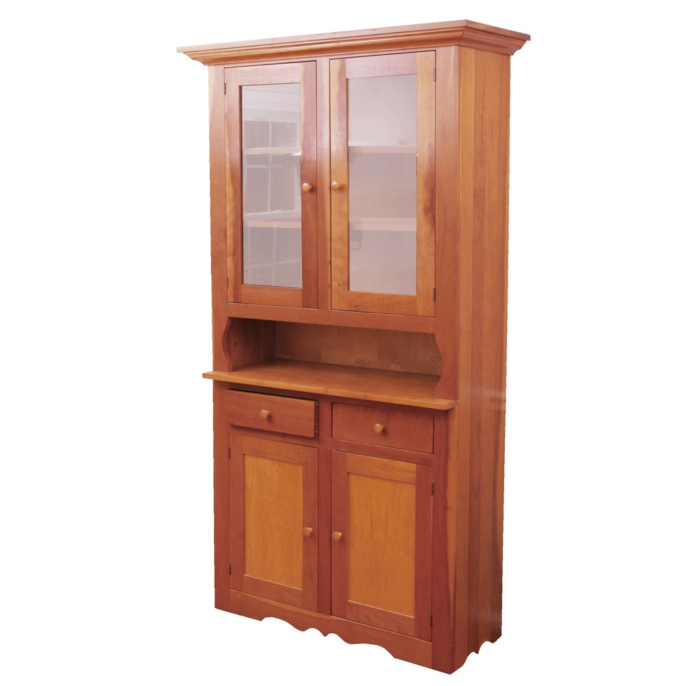 Wooden China Cabinet by Country Traditions