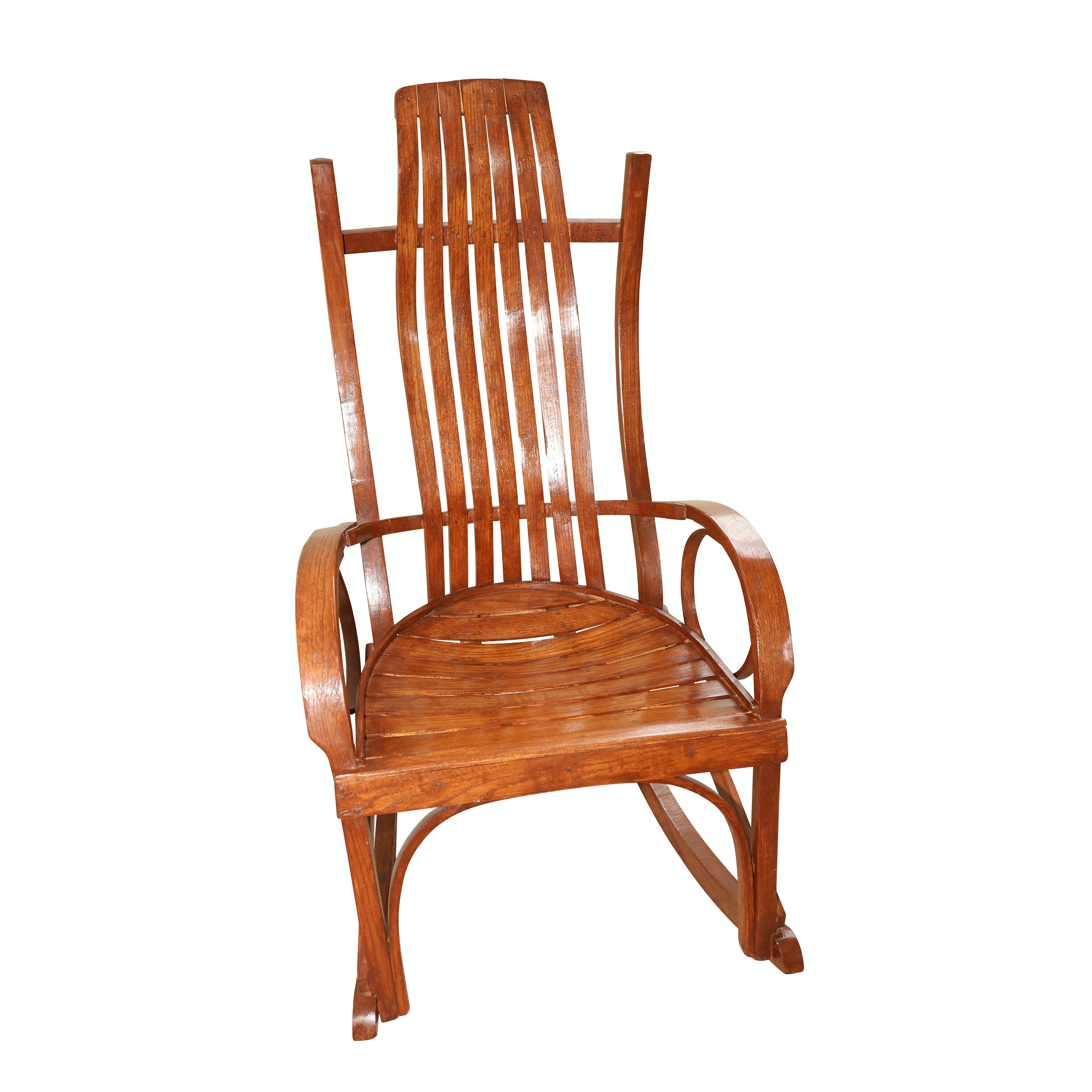 Amish Bentwood Style Rocking Chair
