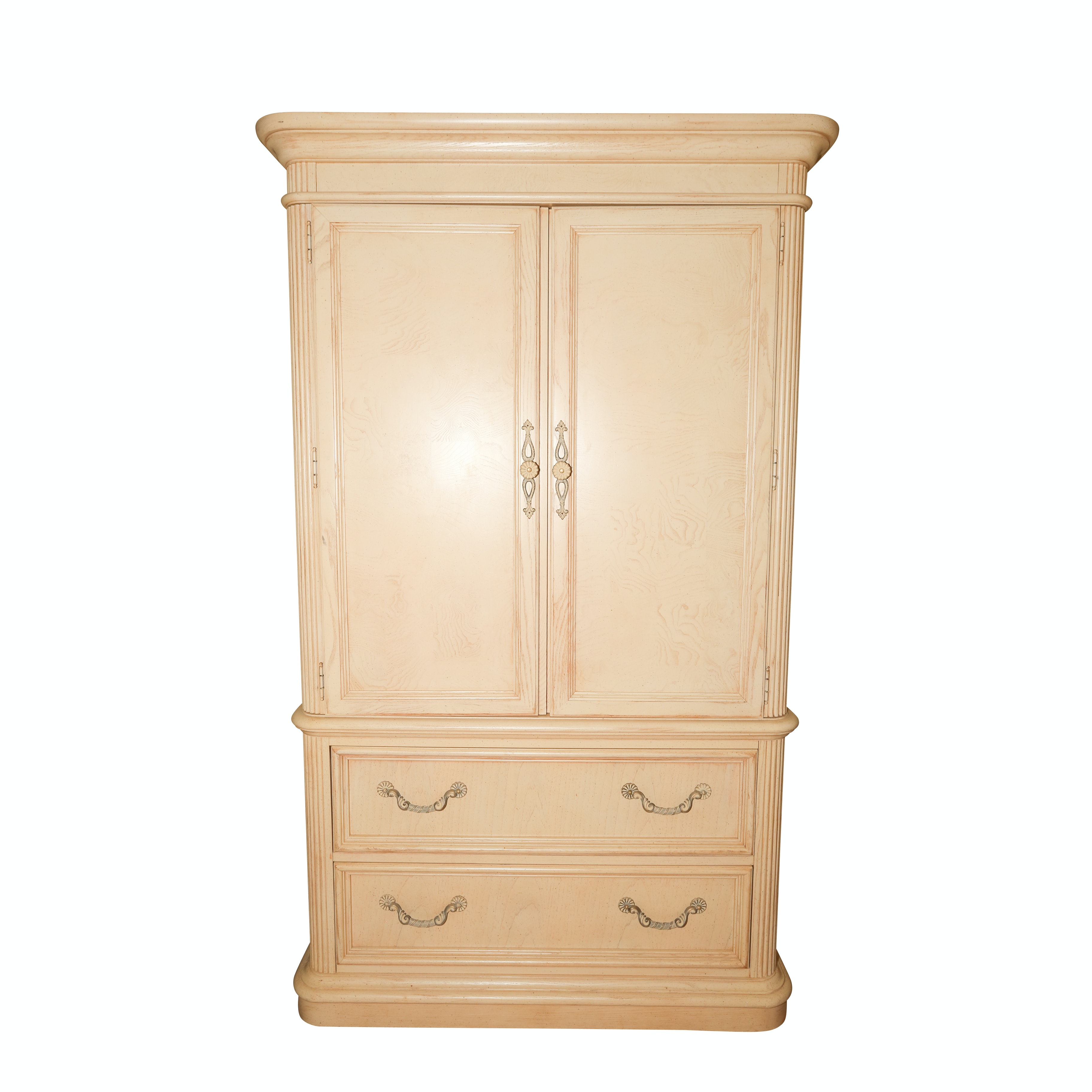 Neoclassical Wardrobe or Media Cabinet by Stanley