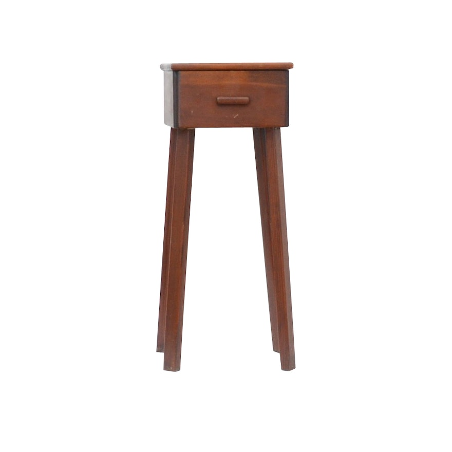 small antique side table with drawer - Small Antique Side Tables