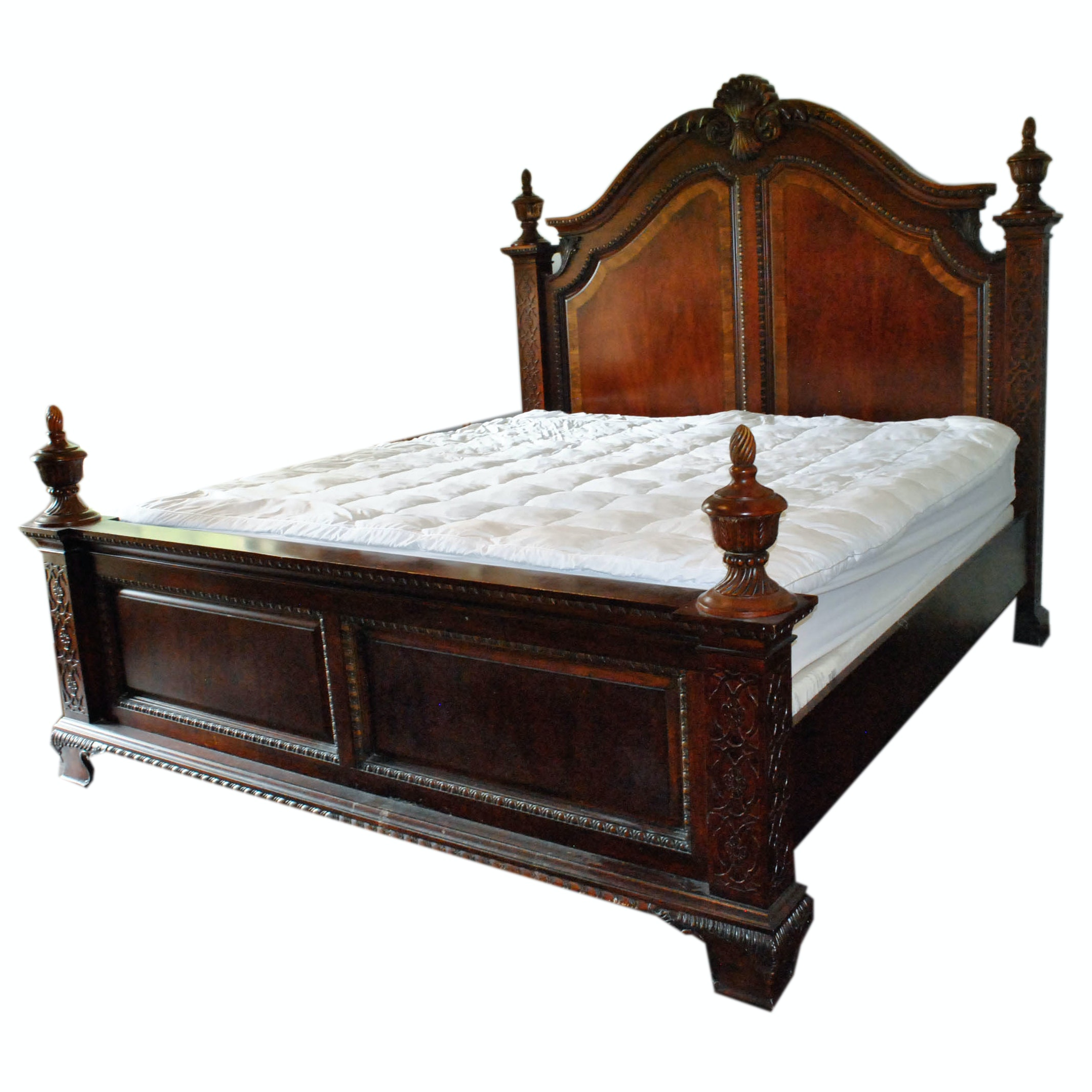 Queen Anne Style Bed Frame
