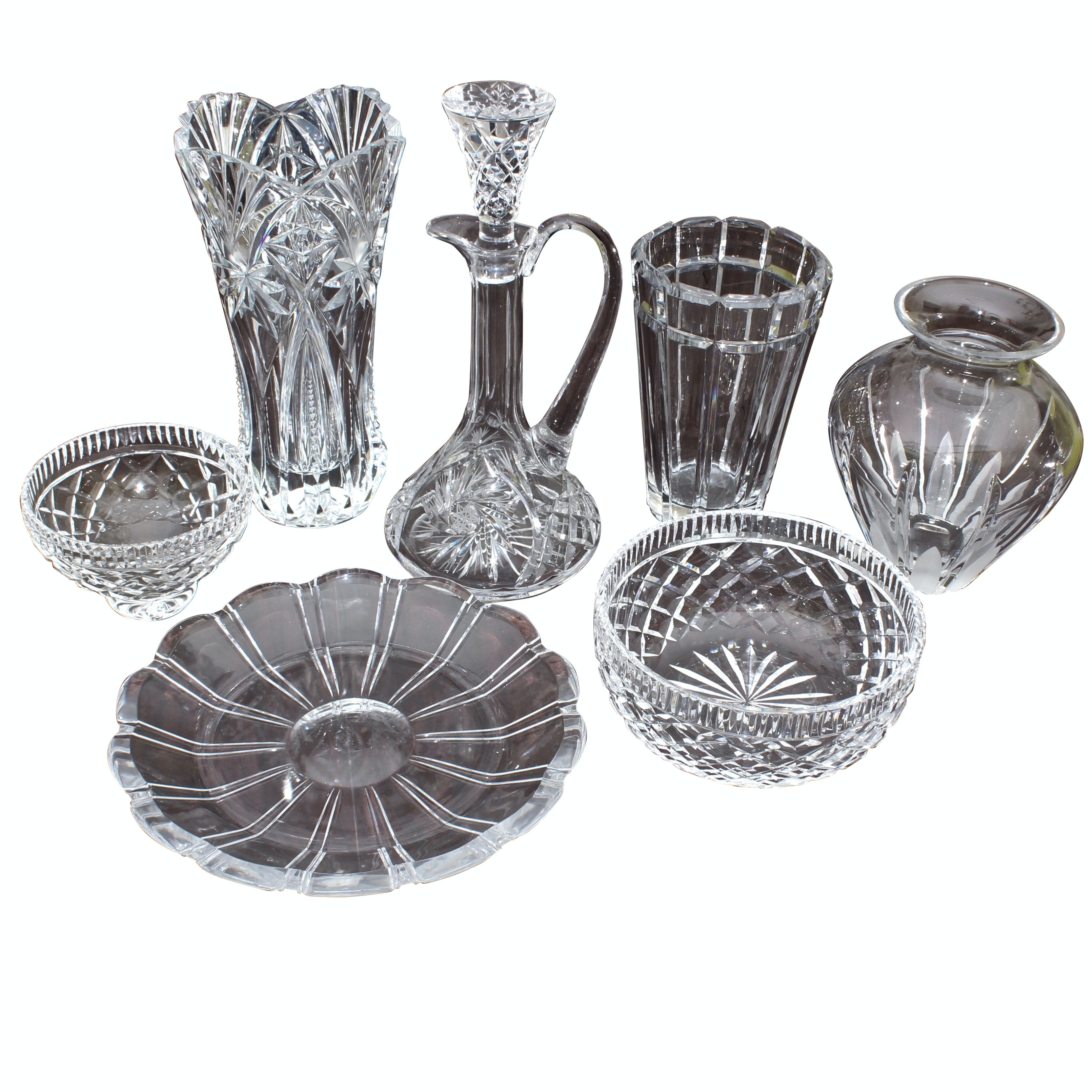 Lead Crystal Including Waterford Crystal and Atlantis