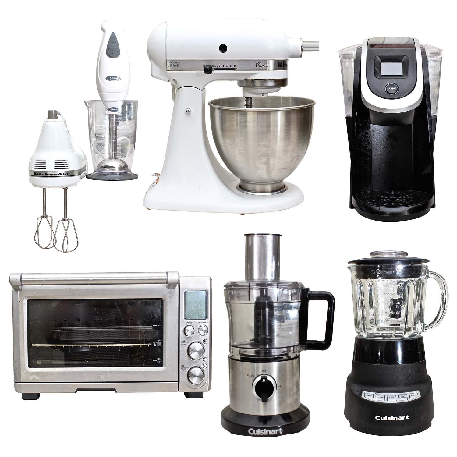 Breville, Cuisinart, KitchenAid, Keurig and Oster Small Appliances
