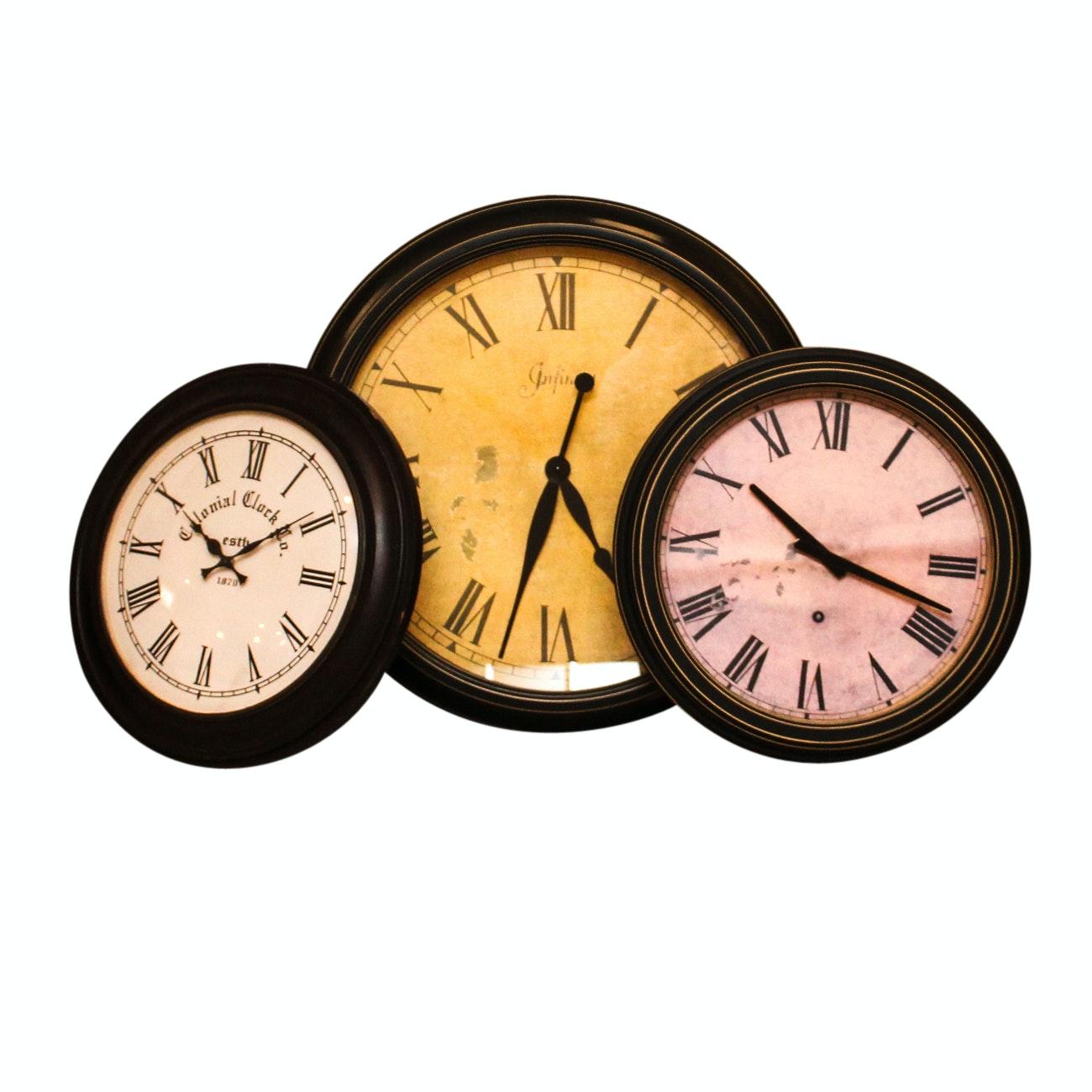 Grouping of Wall Clocks