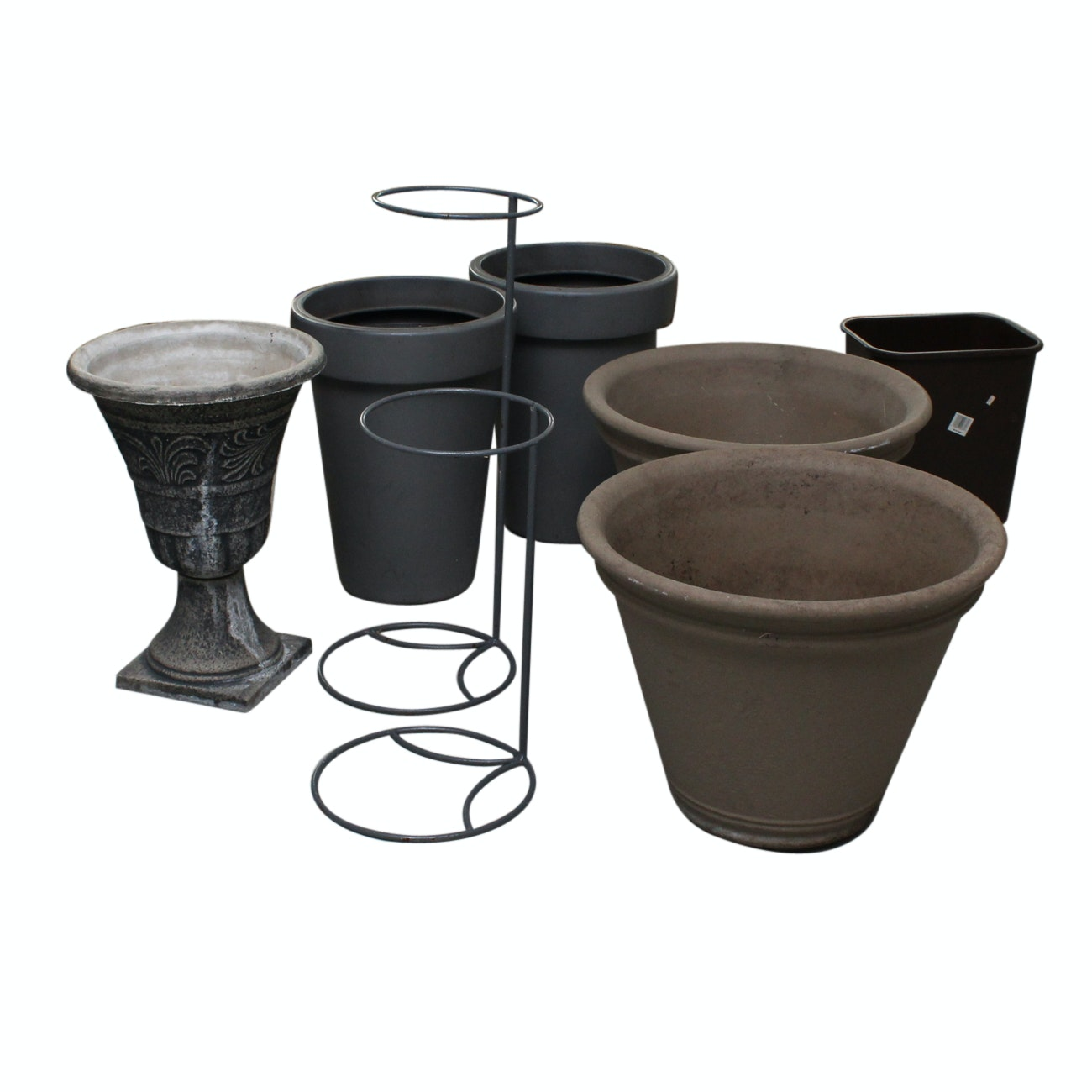Planters and Planter Stands