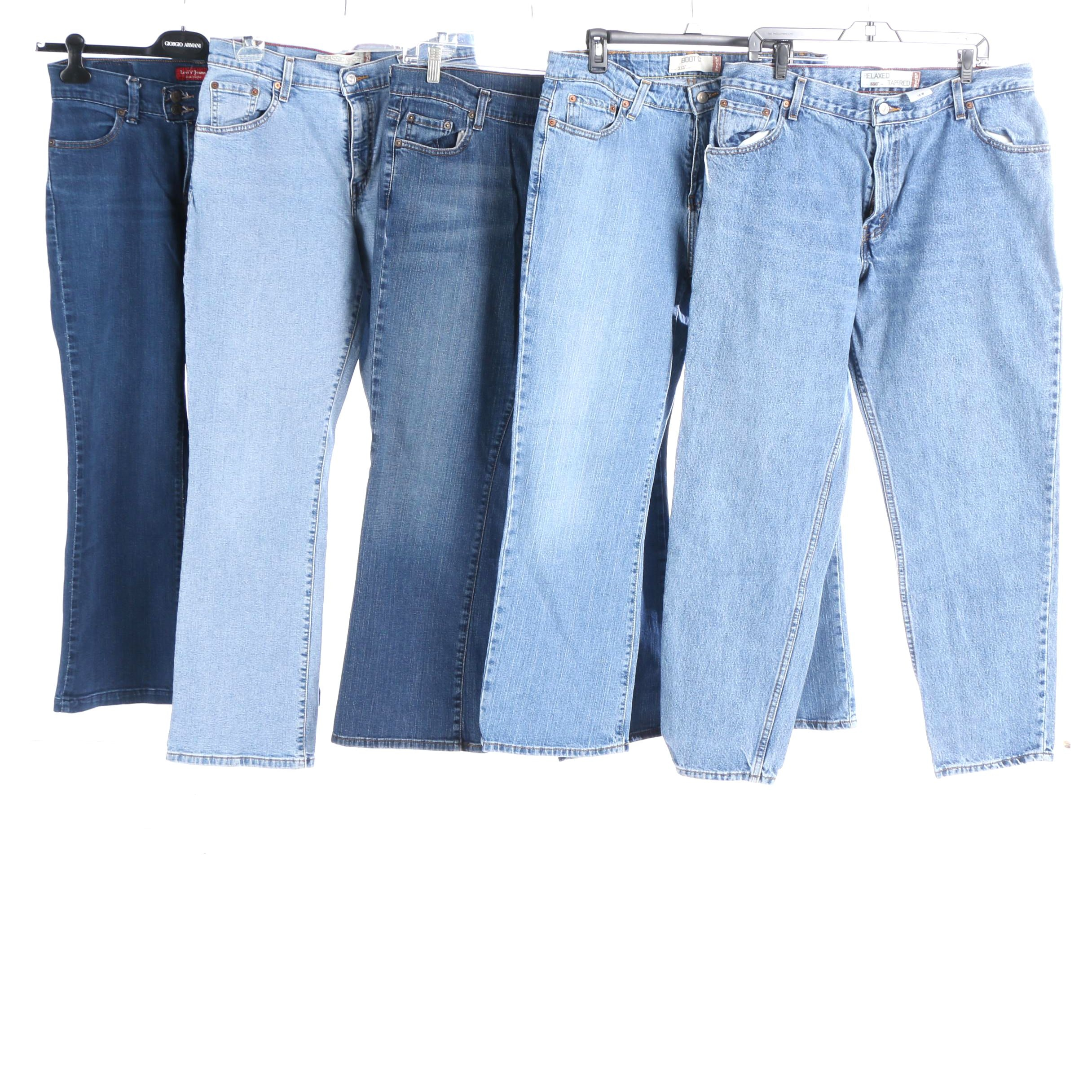 Women's Levi's Boot Cut and Relaxed Tapered Jeans
