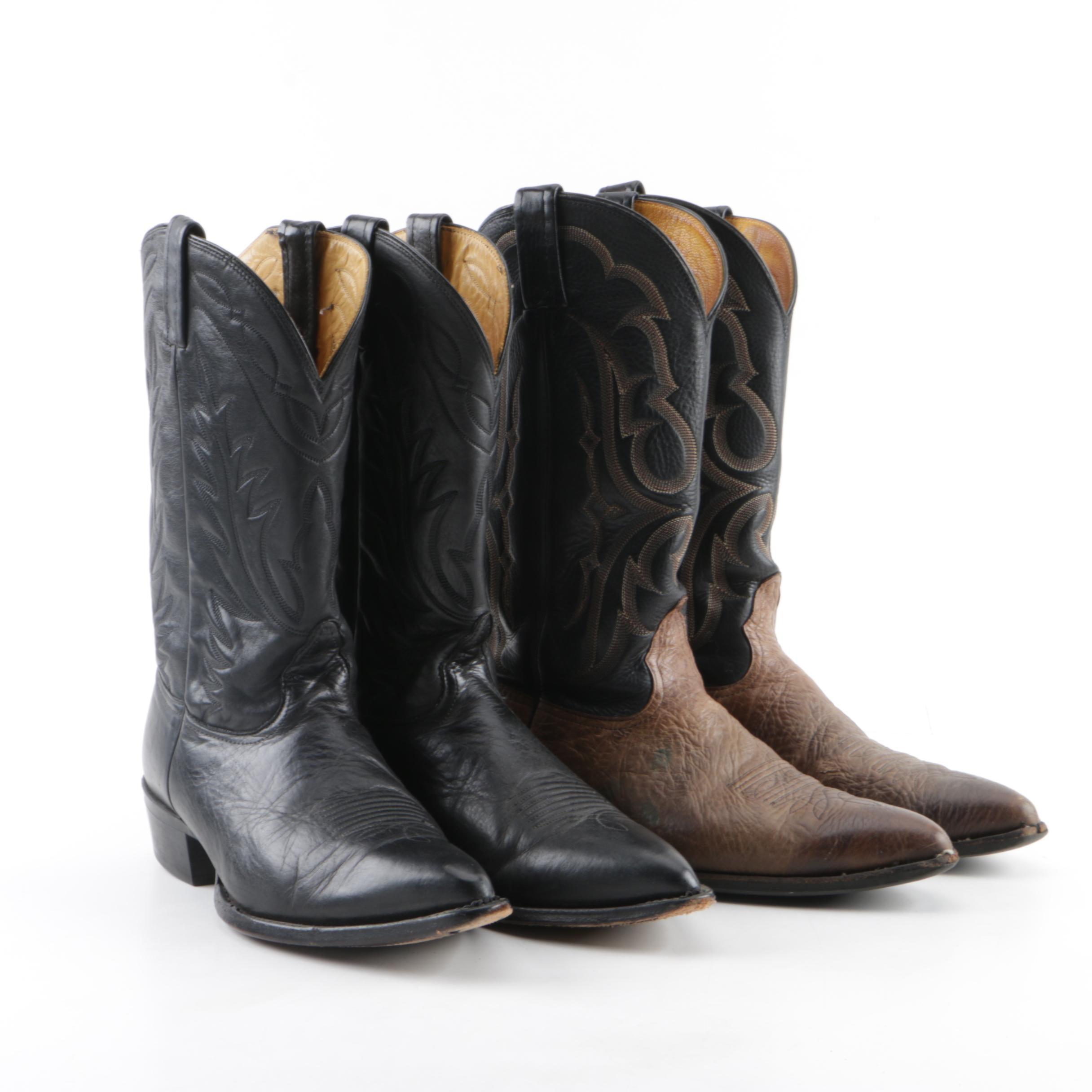 Men's Nocona Leather Cowboy Boots
