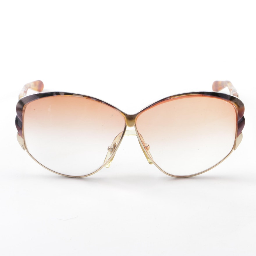 02a90499a6 1980s Givenchy Solaire Butterfly Prescription Sunglasses   EBTH