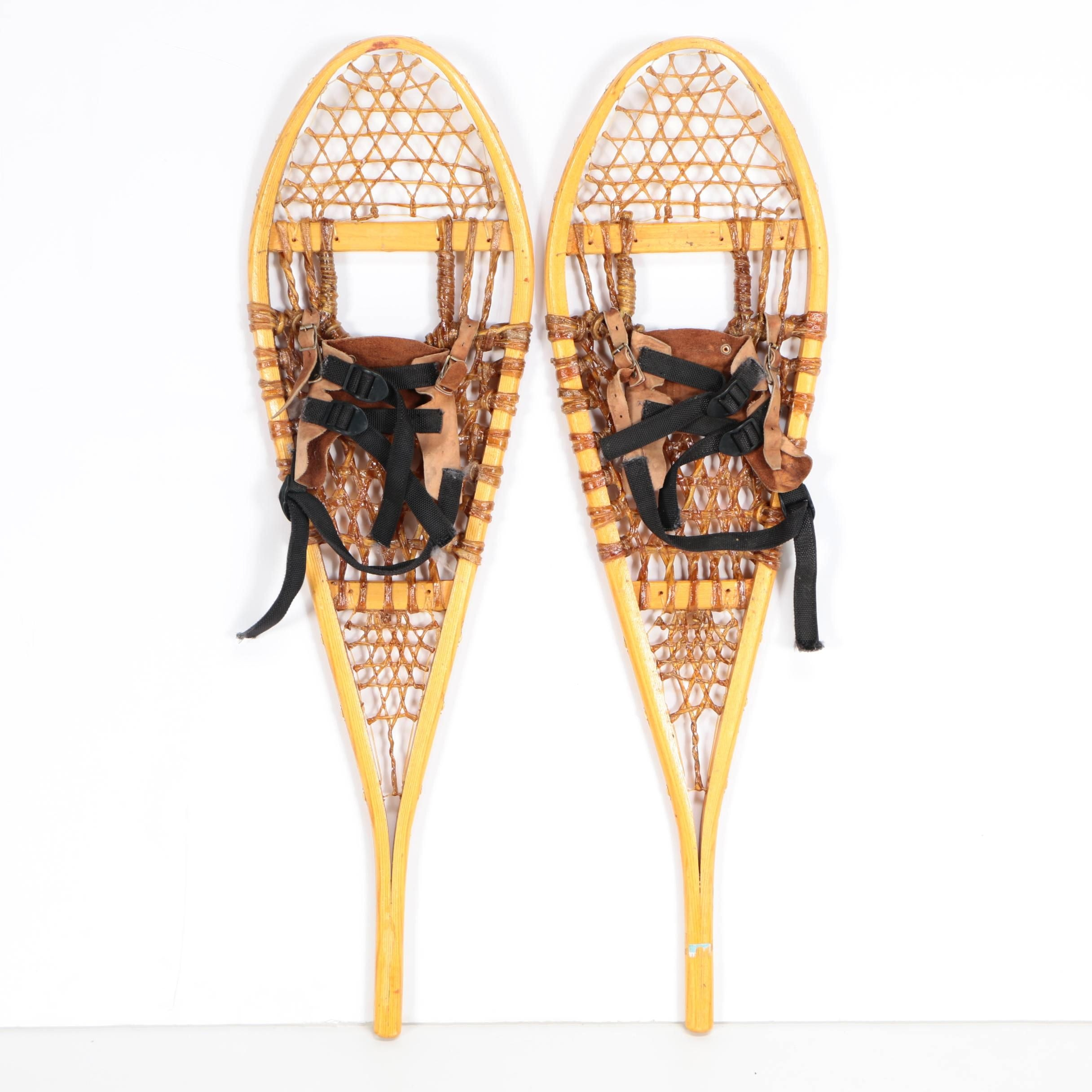 Wright Wood and Sinew Snowshoes