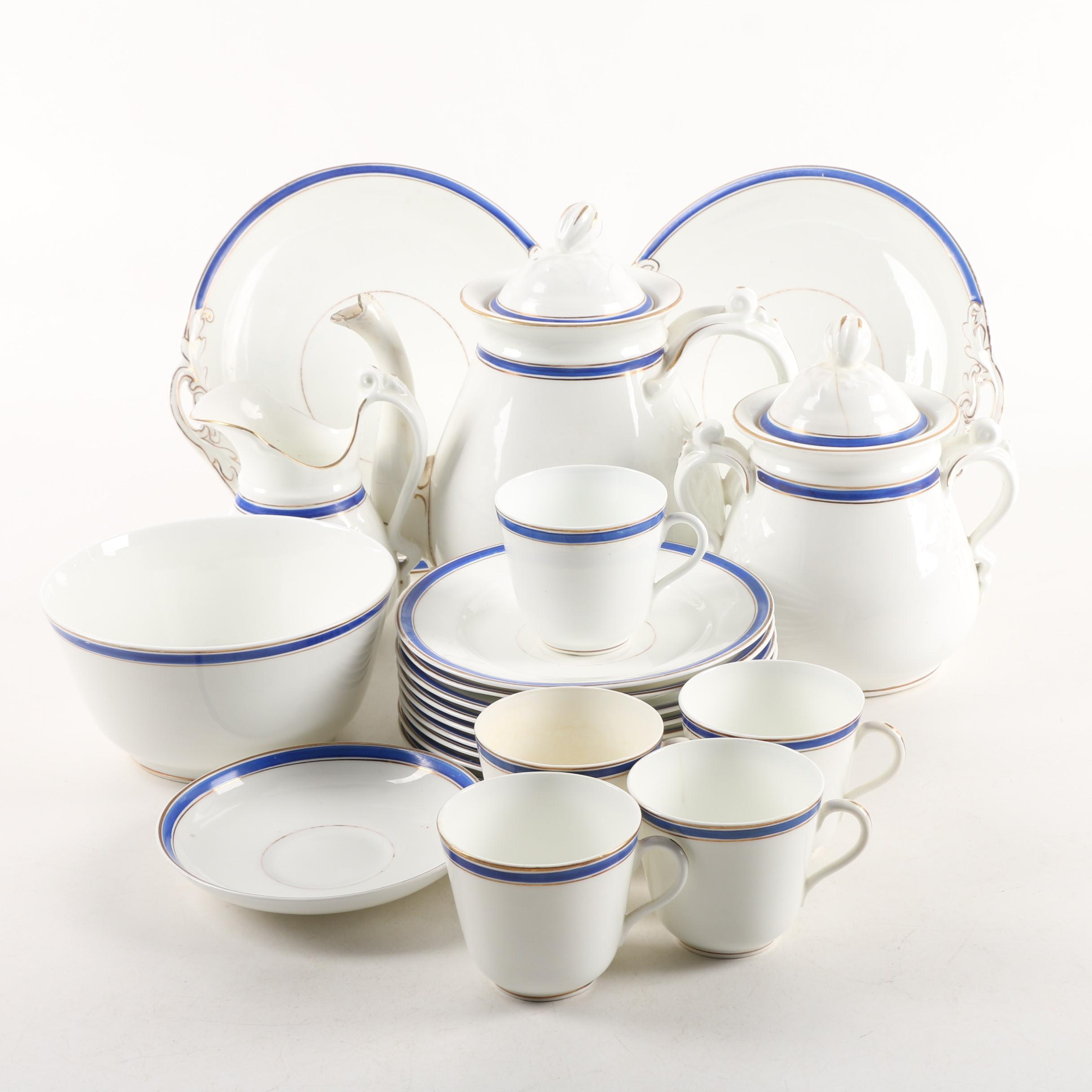Antique Bridgwood u0026 Son Porcelain Tableware ca. & Antique Bridgwood u0026 Son Porcelain Tableware ca. 1860 : EBTH