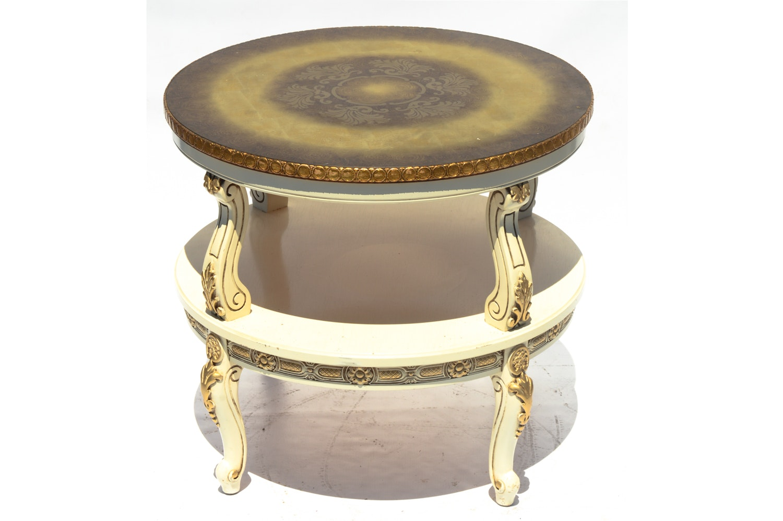 Italian Style Tiered Table