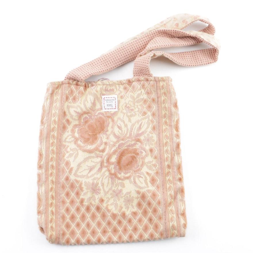 5d6e54de2bc9 Monica Lewinsky Reversible Upholstery Handbag   EBTH