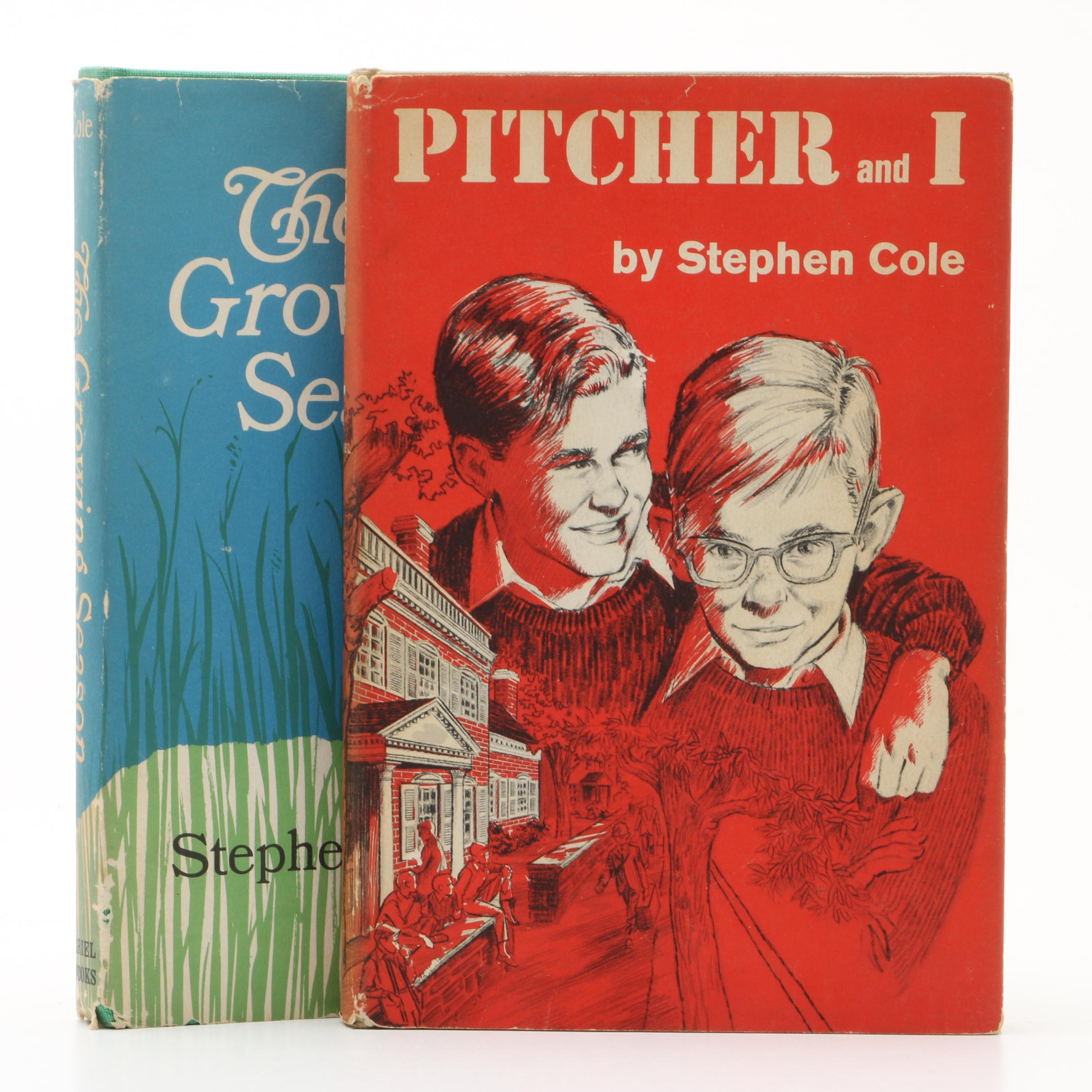 Two Signed First Printings by Stephen Cole