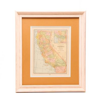 Vintage Maps for Sale | Antique Maps for Sale | Framed Map Auction on