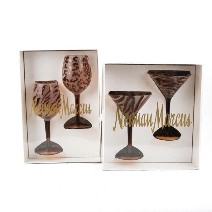 Neiman Marcus Animal Print Glass Stemware  sc 1 st  EBTH.com & Vintage Kitchenware Auctions   Vintage Housewares Auction : EBTH