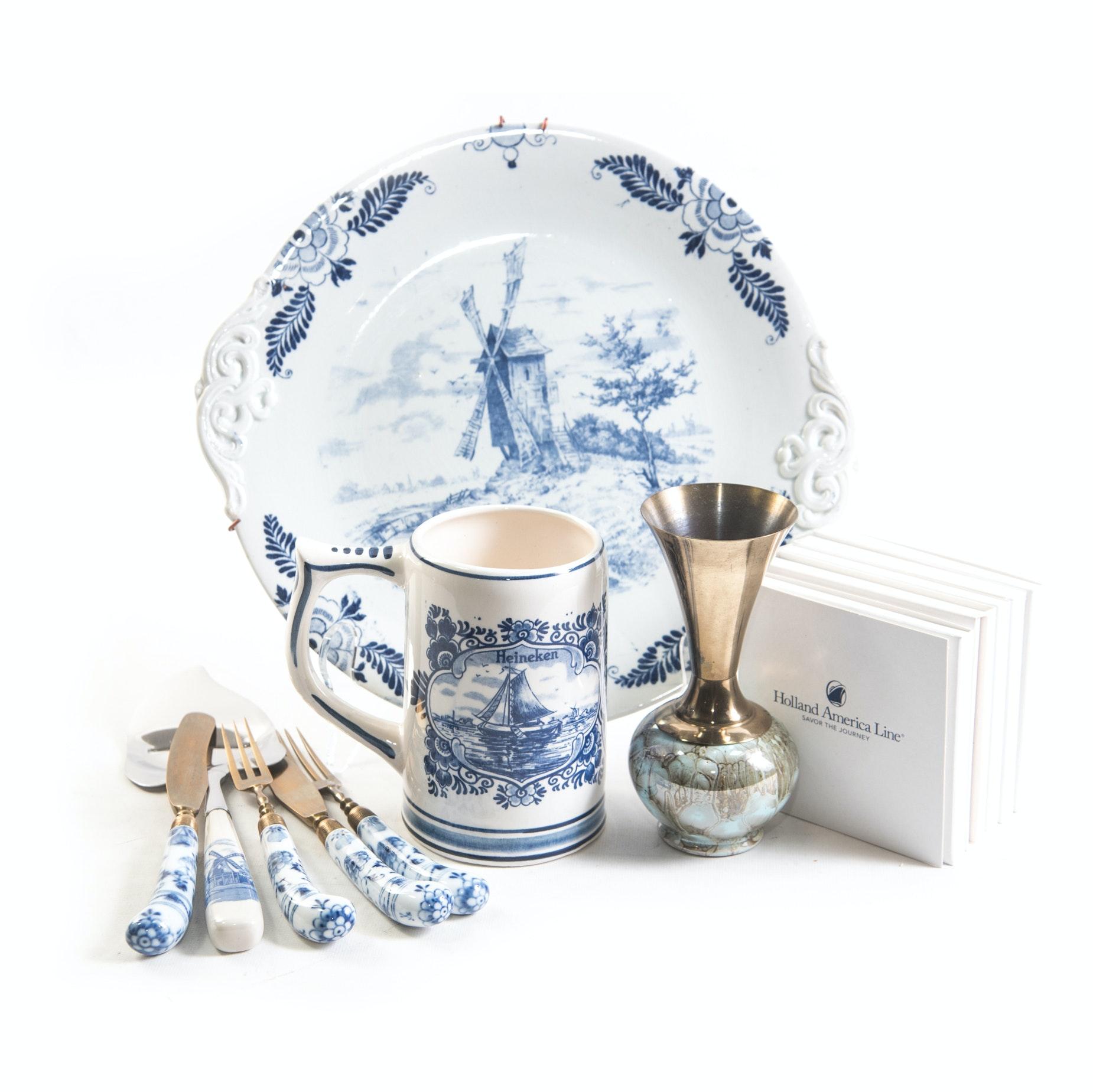 Delft Blue Tableware and Decor ...  sc 1 st  EBTH.com & Delft Blue Tableware and Decor : EBTH