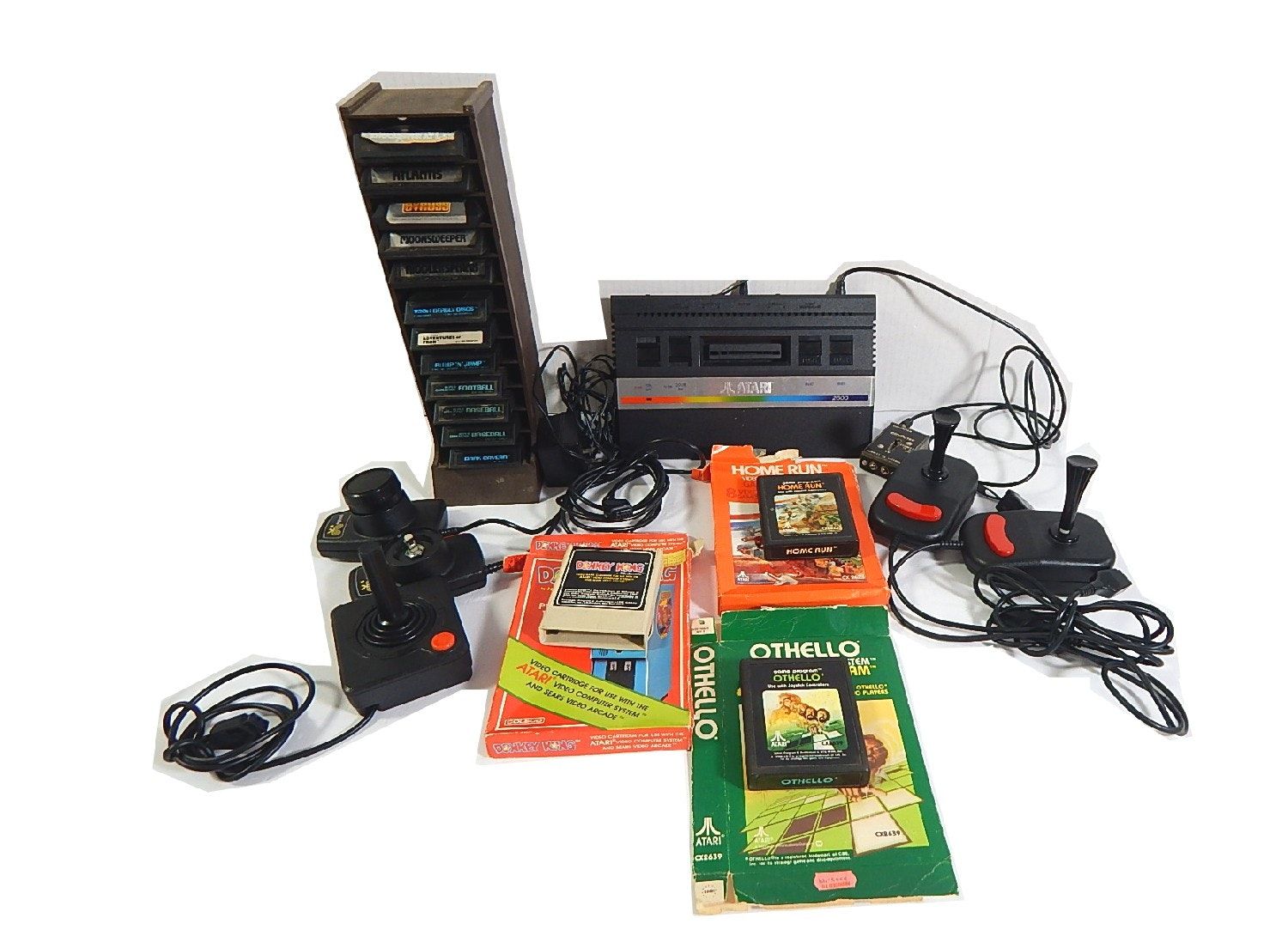 Atari 2600 Game Console, Games, Controllers