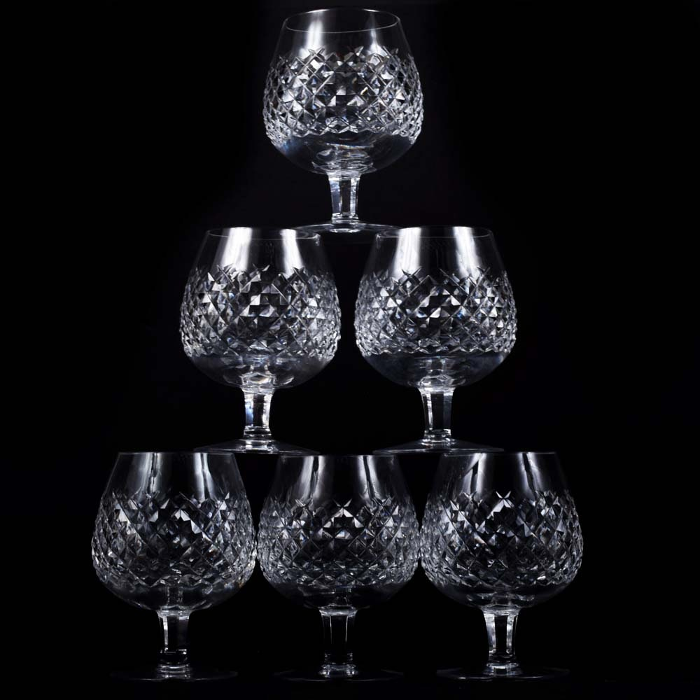 "Waterford Crystal ""Alana"" Brandy Snifters"