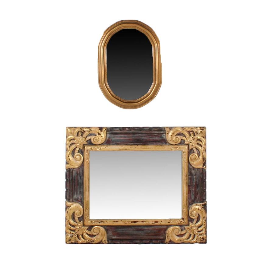 870a983e08f Gold-Toned Wall Mirrors   EBTH