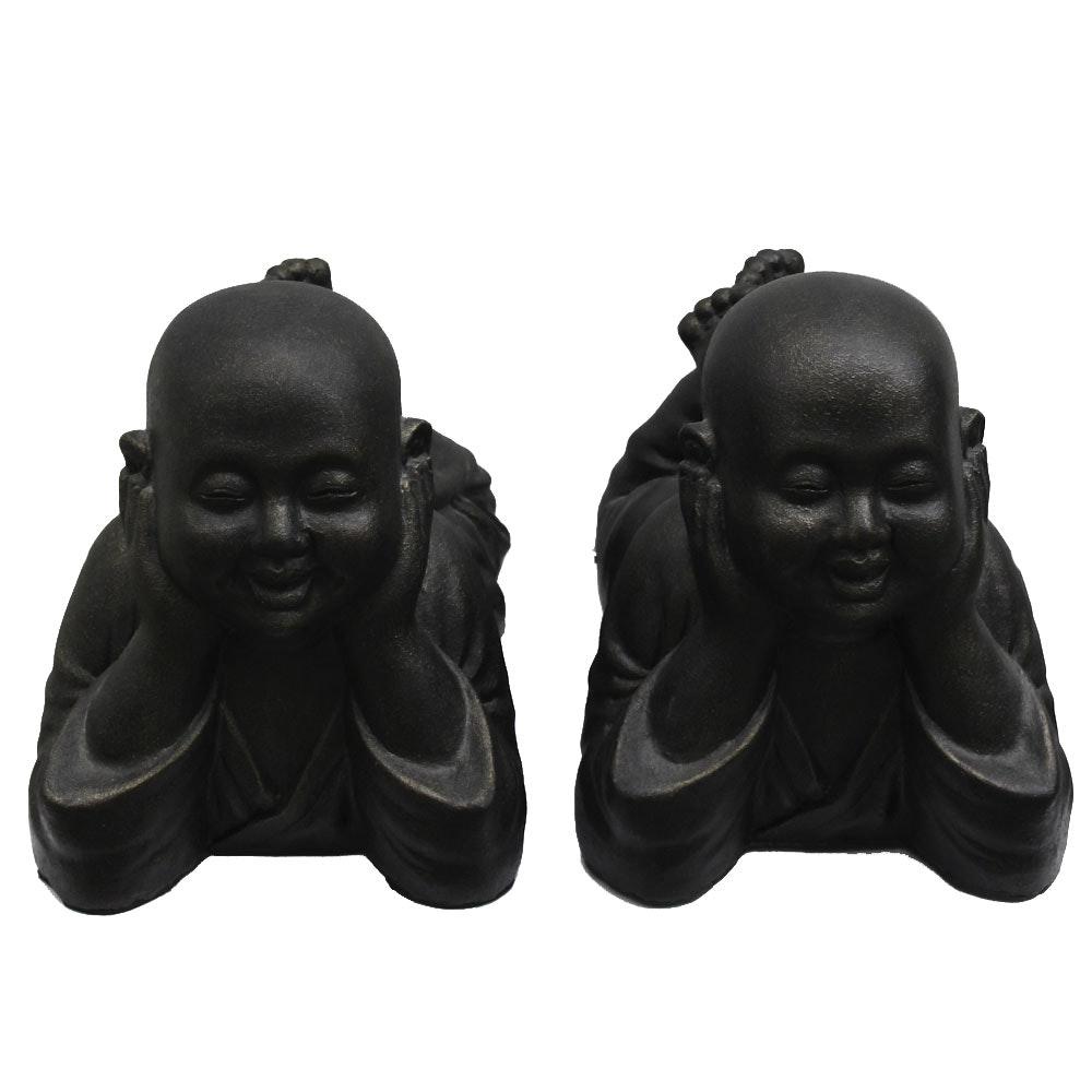 Resin Chinese Recumbent Child Figurines