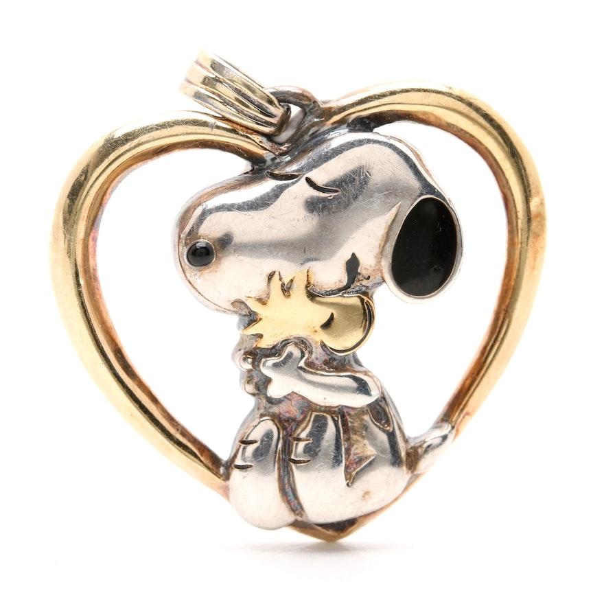 Snoopy Hug Heart