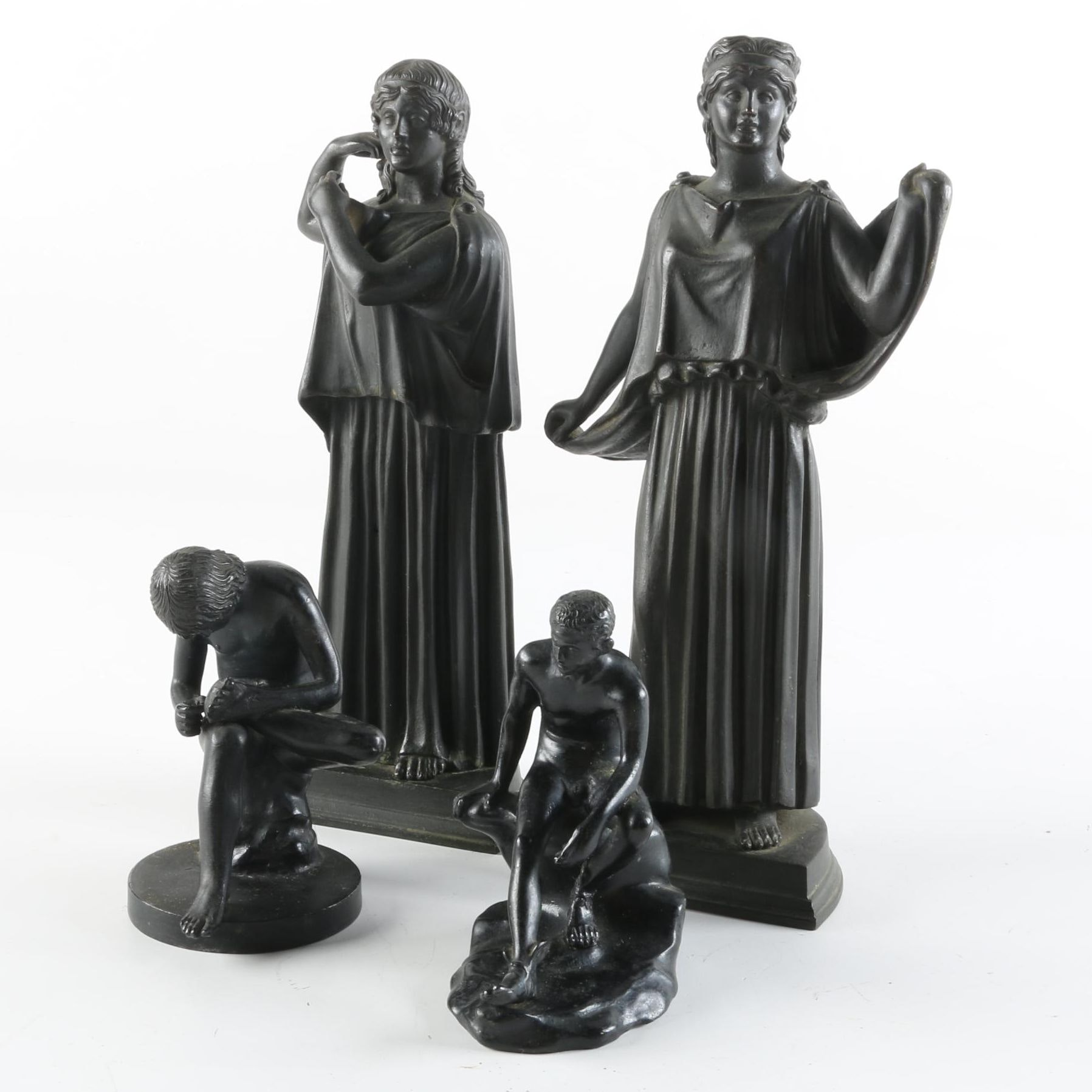 Neoclassical Style Sculptures