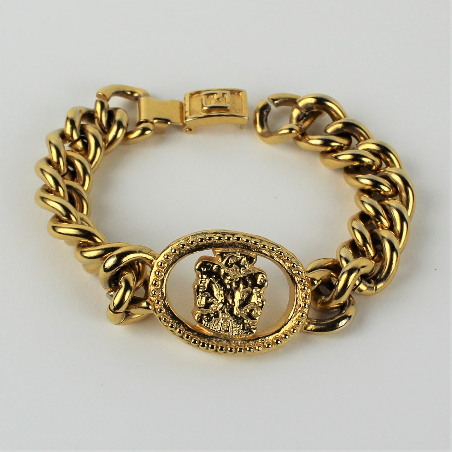 Fendi Curb Link Bracelet