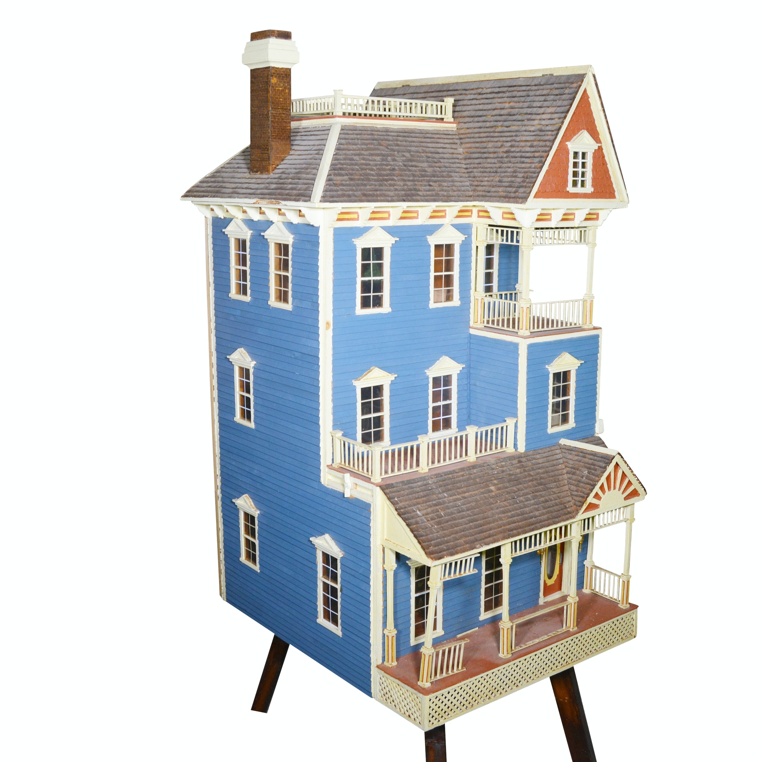 Vintage Dollhouse And Accessories Ebth