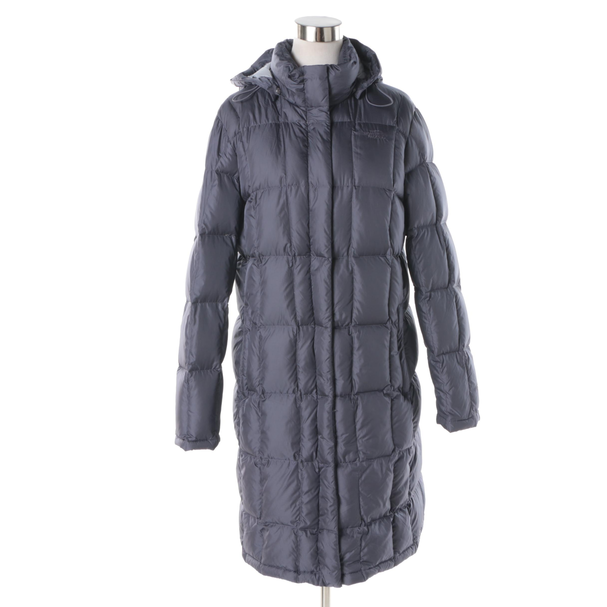 Women S The North Face 550 Puffer Coat With Detachable Hood Ebth