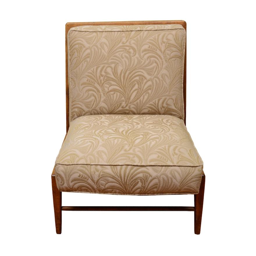 Danish Modern Style Armless Lounge Chair