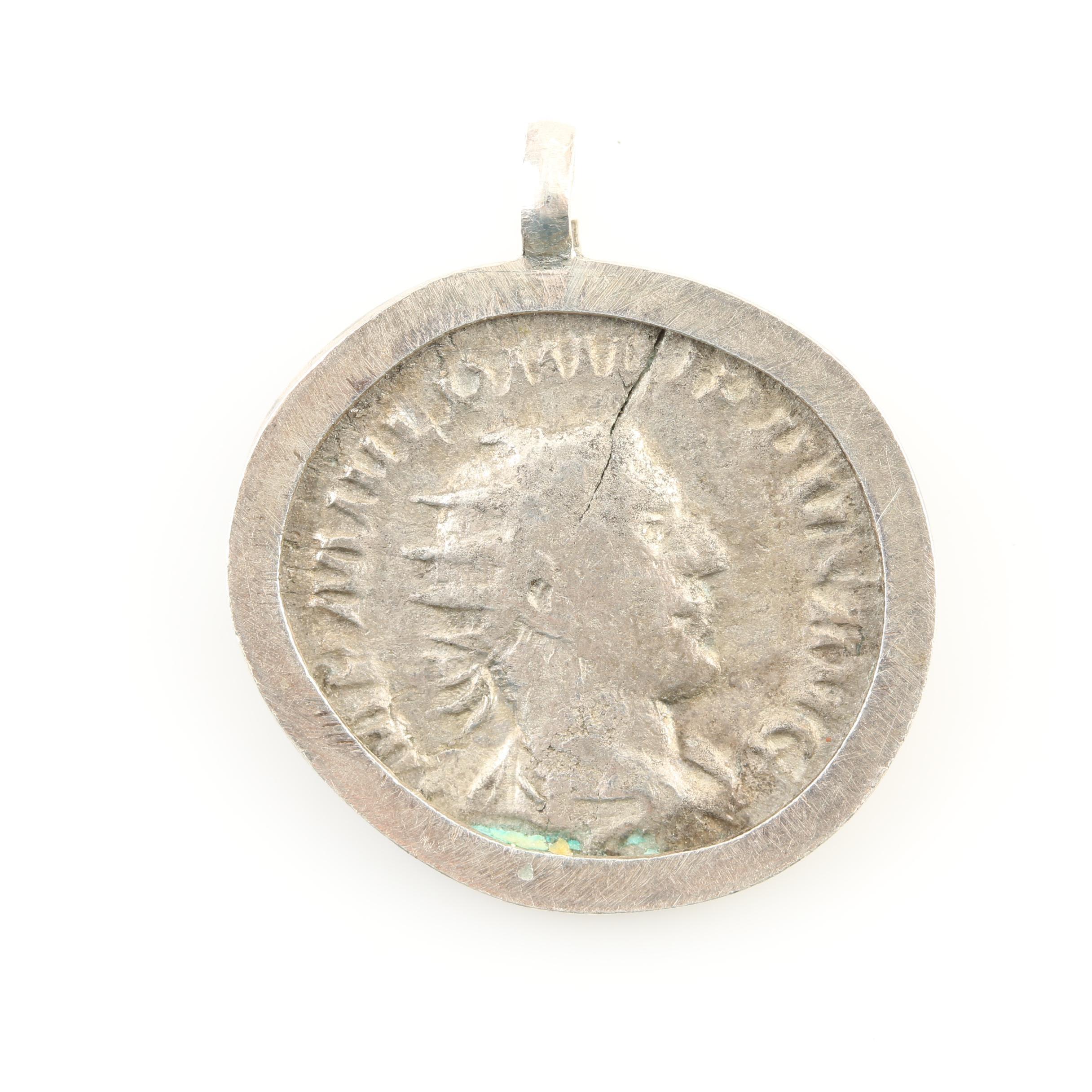 Ancient Roman Imperial Double Denarius of Philip I, ca. 244 AD