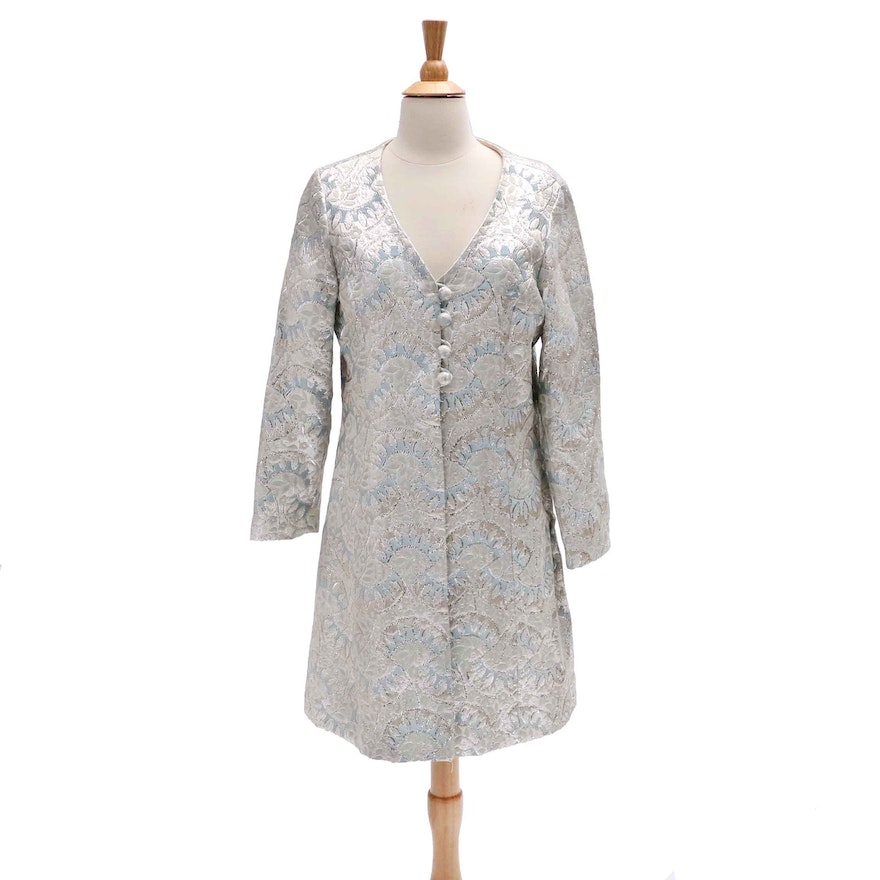 6af00bb47f Vintage Brocade Quilted Dress Jacket   EBTH