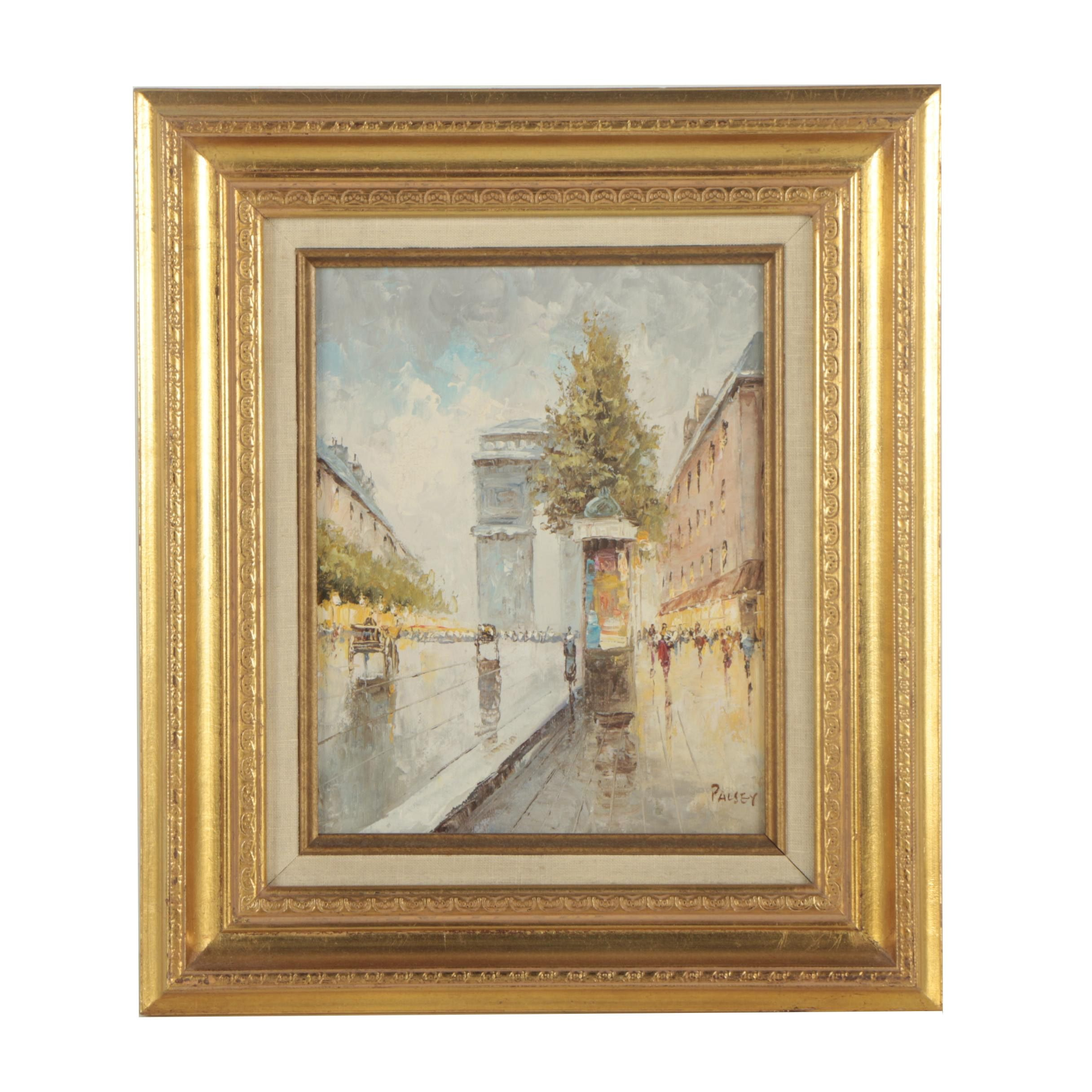 Palsey Late 20th Century Oil Painting