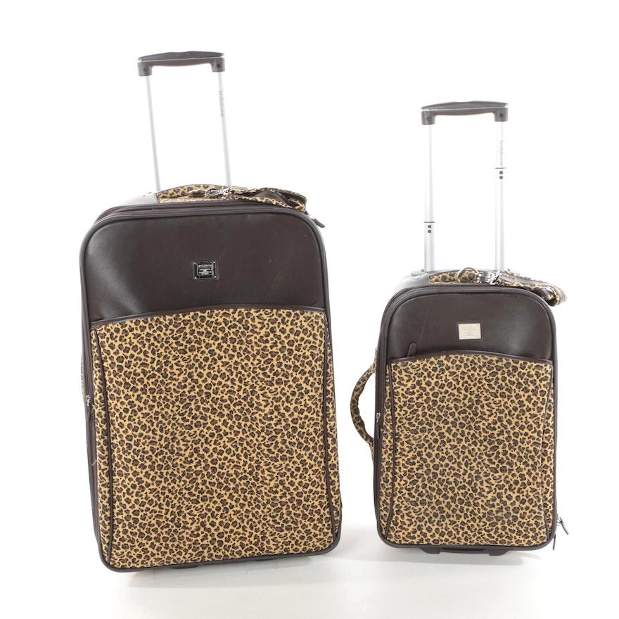 0148411ebbaa Liz Claiborne Leopard Print Luggage Set   EBTH