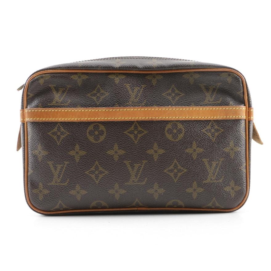 92e92464a8dc Vintage Louis Vuitton of Paris Monogram Canvas Clutch   EBTH