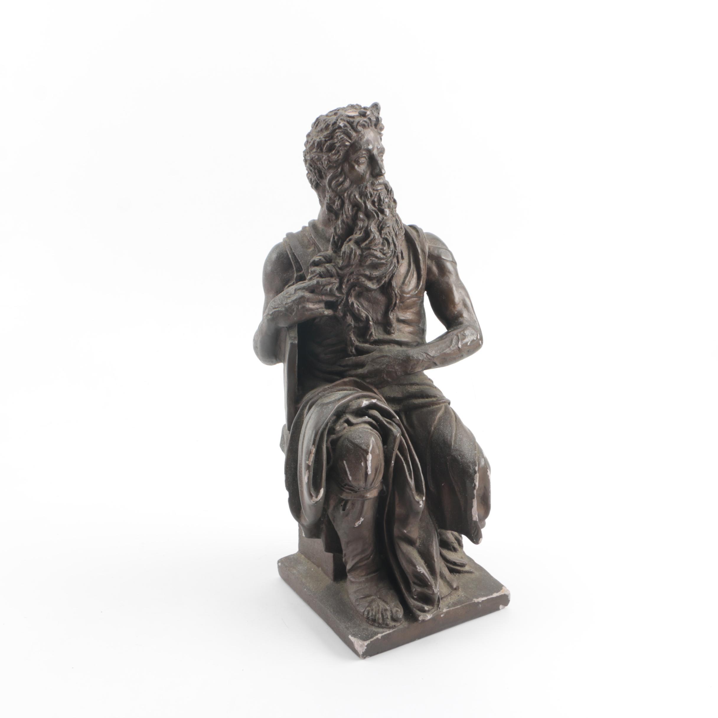 Austin Production Plaster Sculpture After Michelangelo