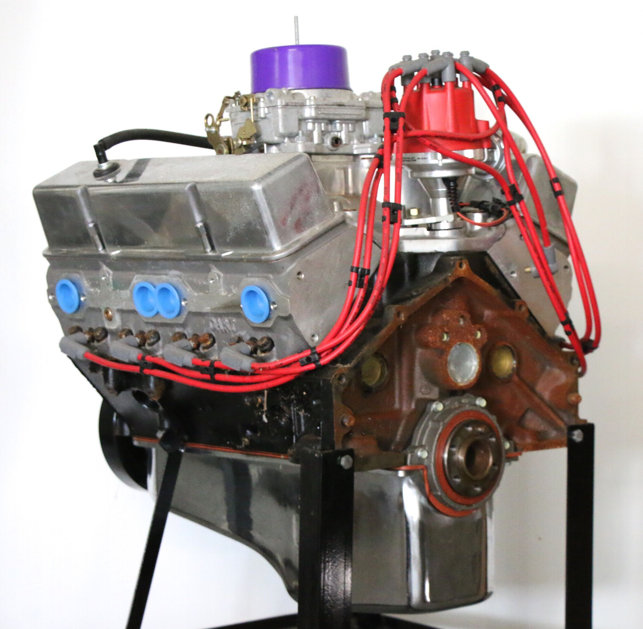 Modified Remanufactured Gm 350 Cubic Inch 5 7l V8 Engine