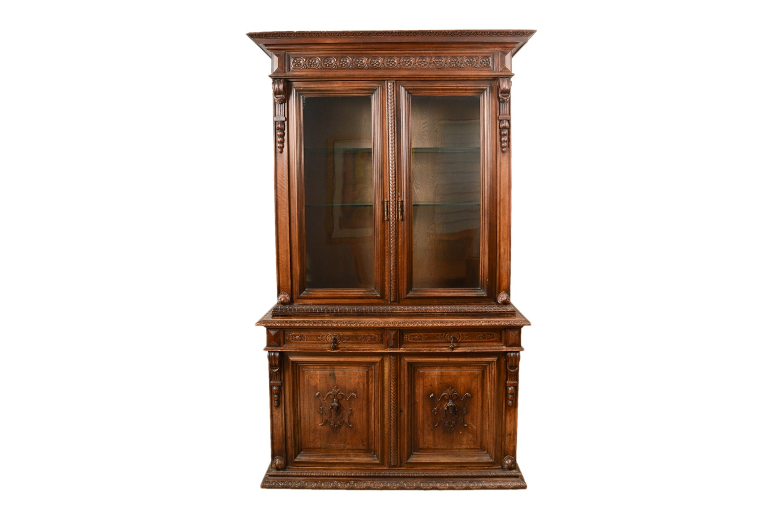 Victorian Style China Cabinet