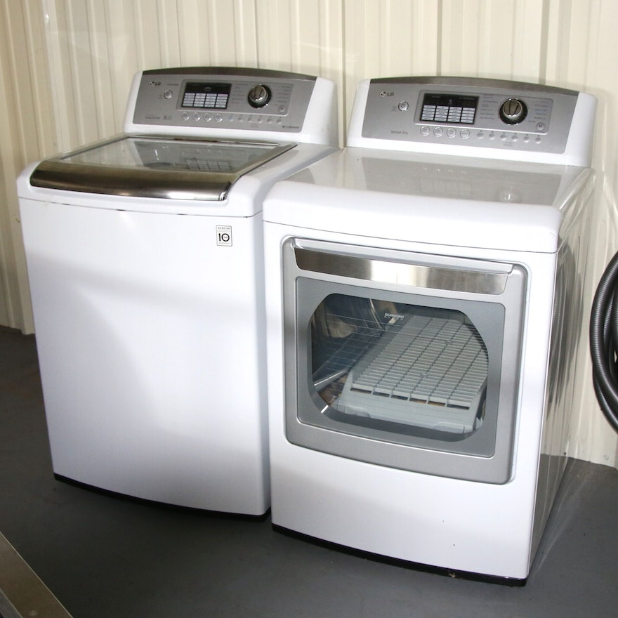 Lg Waveforce Washer And Dryer
