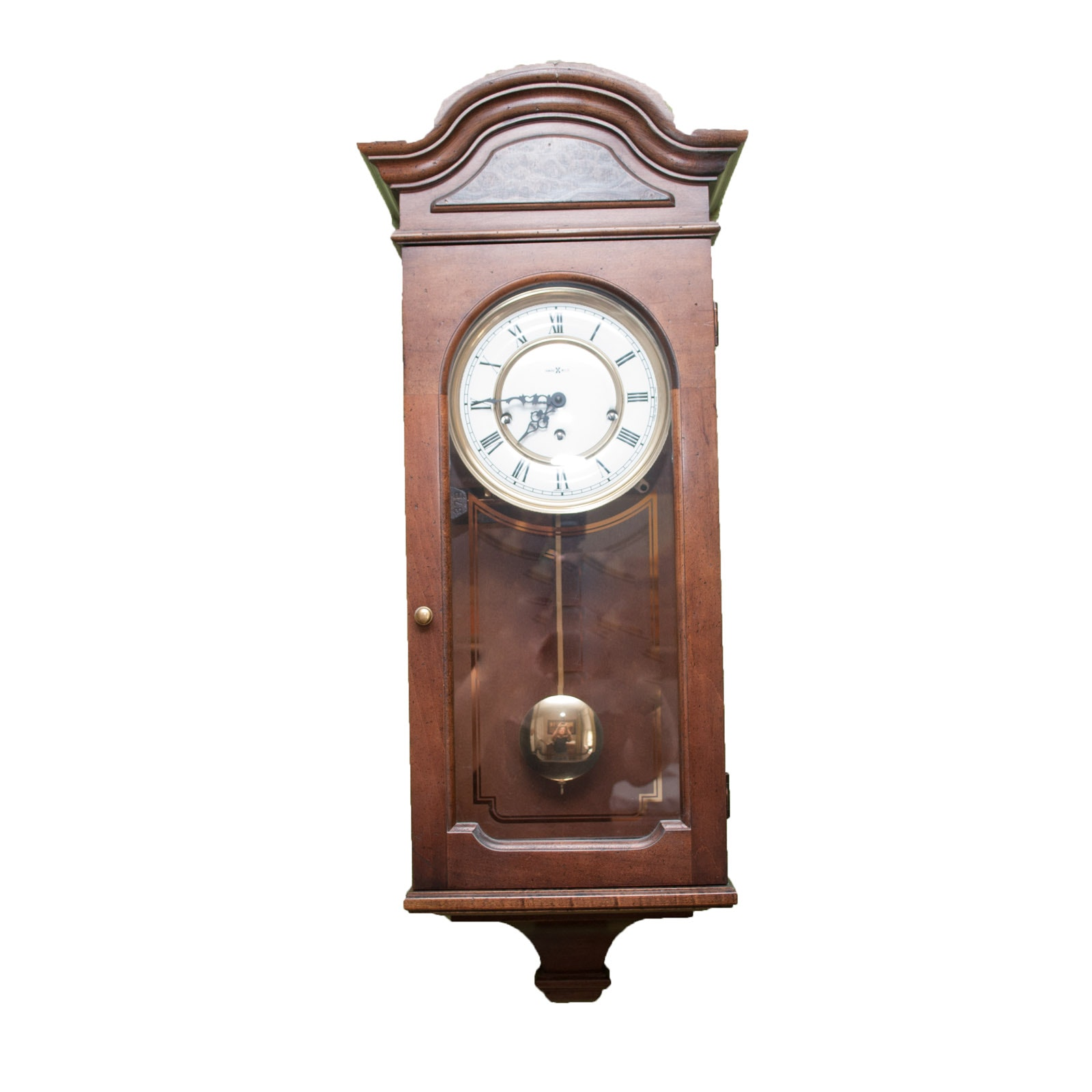 Vintage Howard Miller Pendulum Wall Clock Ebth