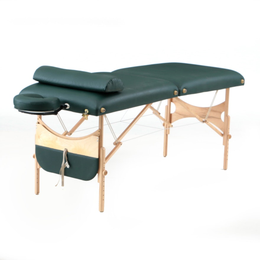 Oakworks Nova Massage Table And Accessories