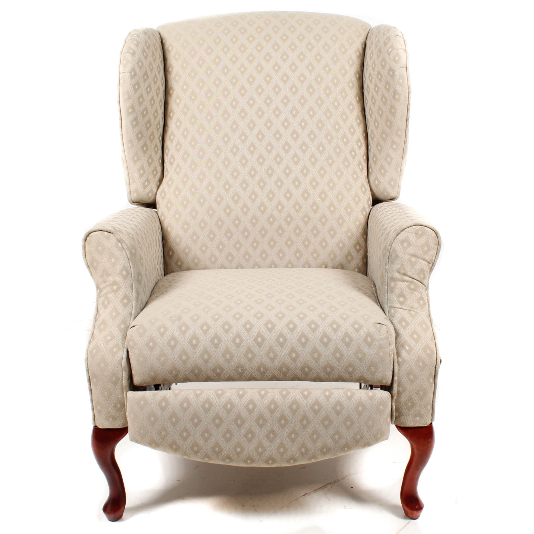 Delicieux Queen Anne Wing Back Reclining Chair ...