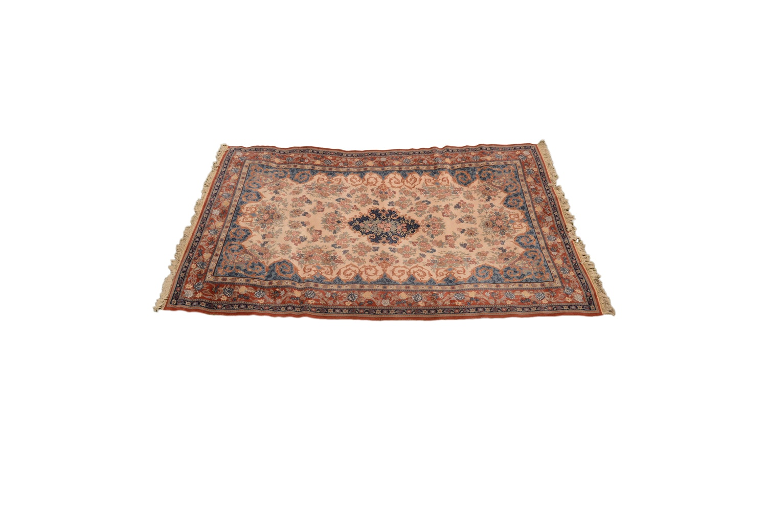 "Power-Loomed Belgian ""Kashimar"" Wool Room Sized Rug by Couristan"