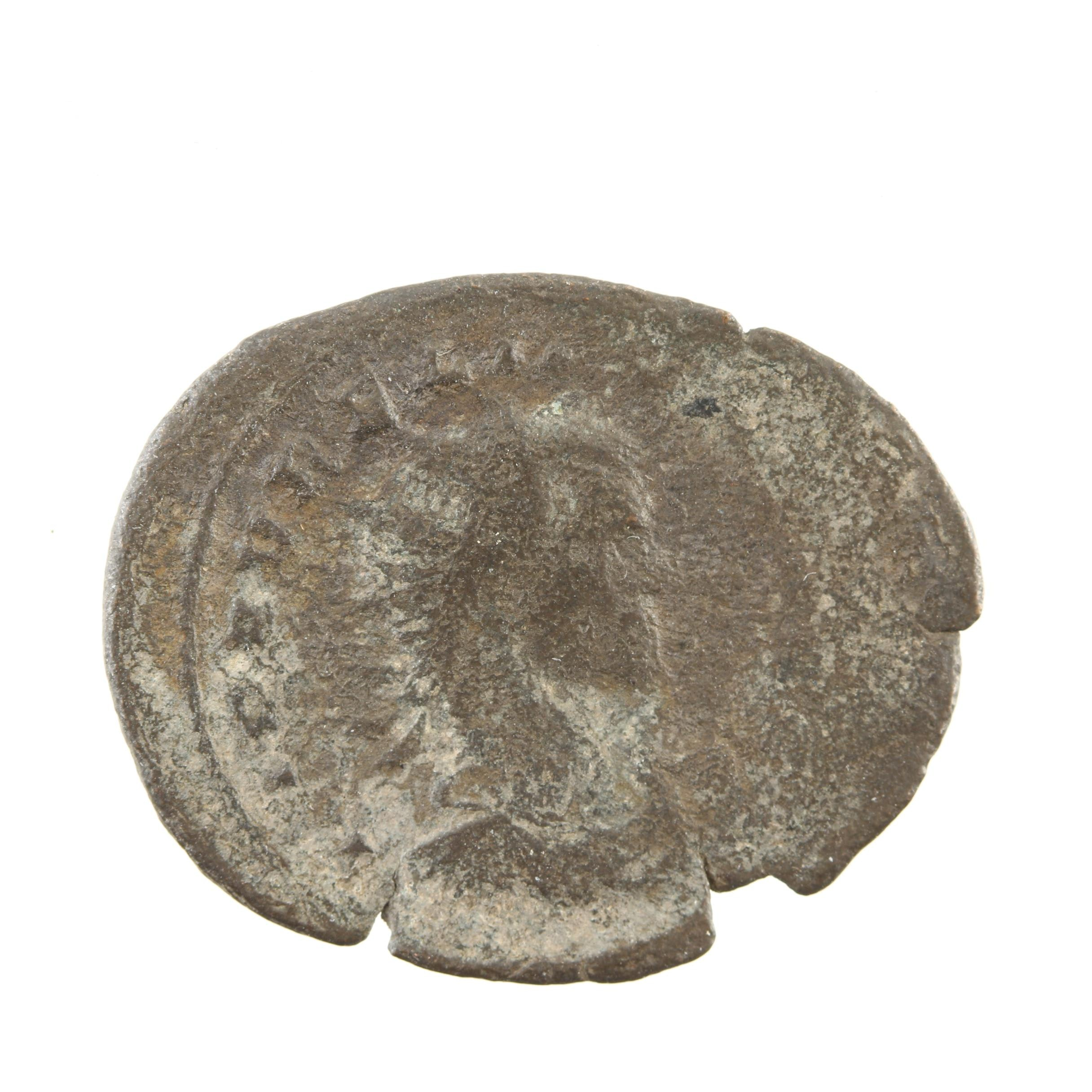 Ancient Roman Empire Bronze Coin Circa 27 B.C - 423 A.D.