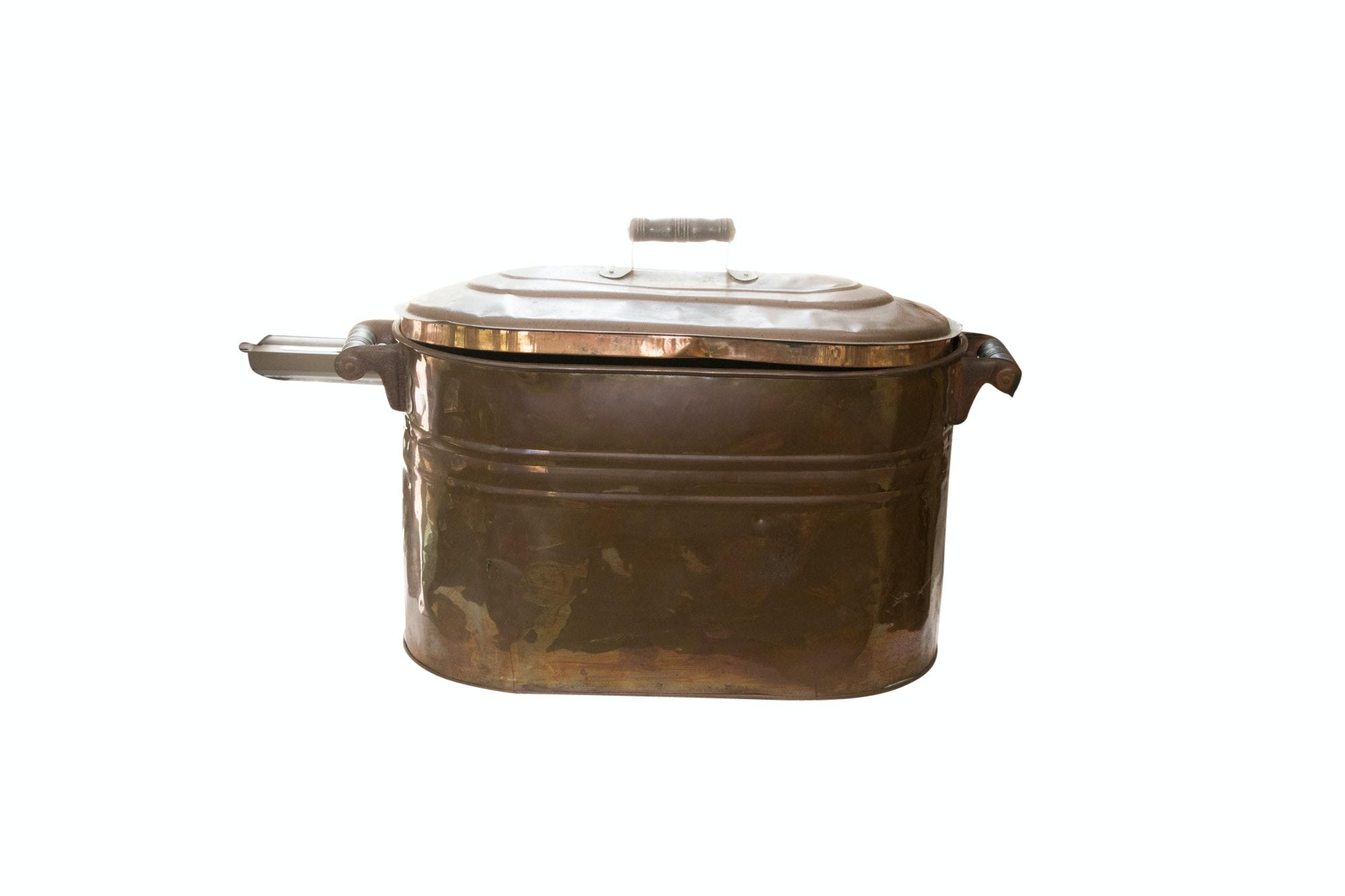 Vintage Copper Boiler and Lid