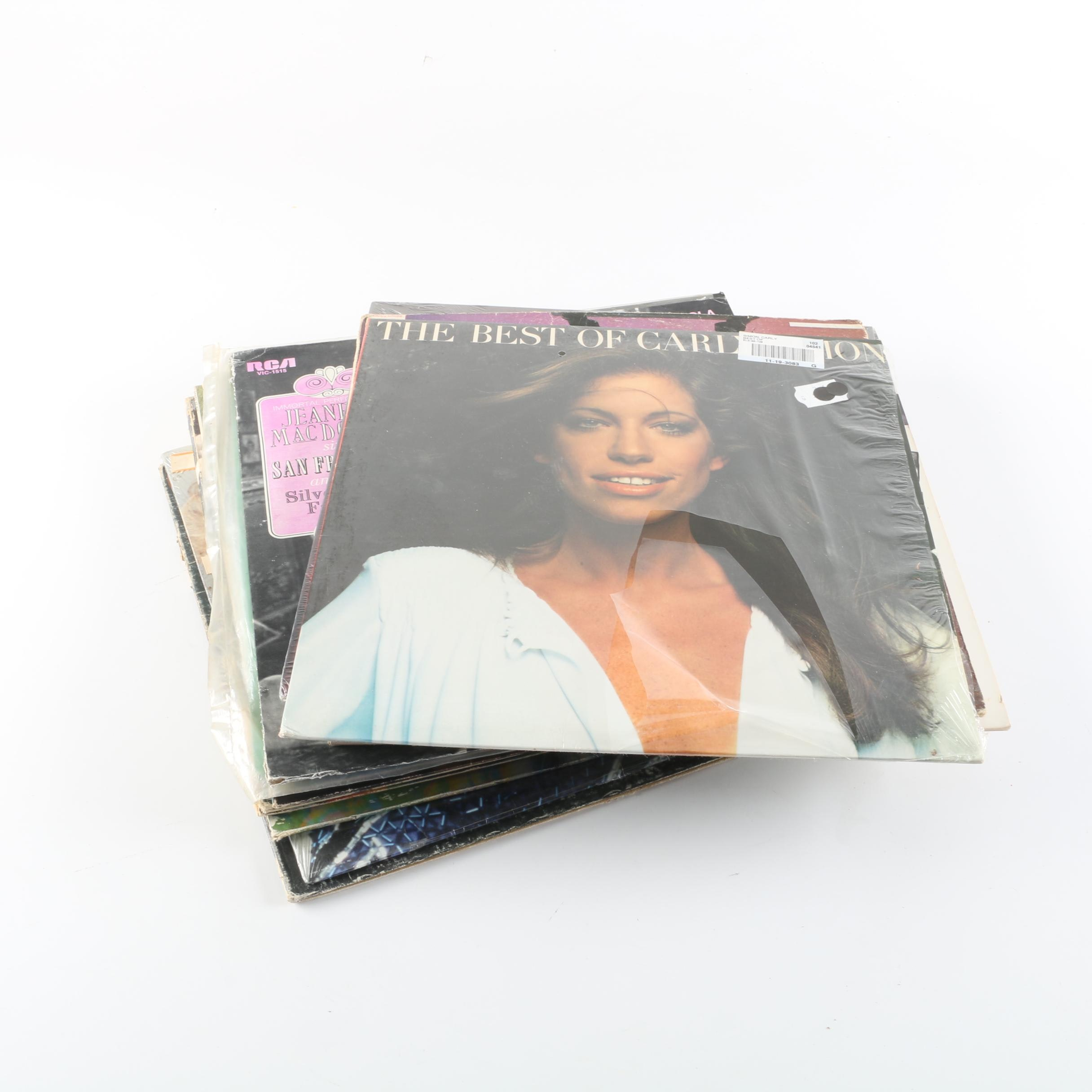 Easy Listening and Soul Records Including Pointer Sisters