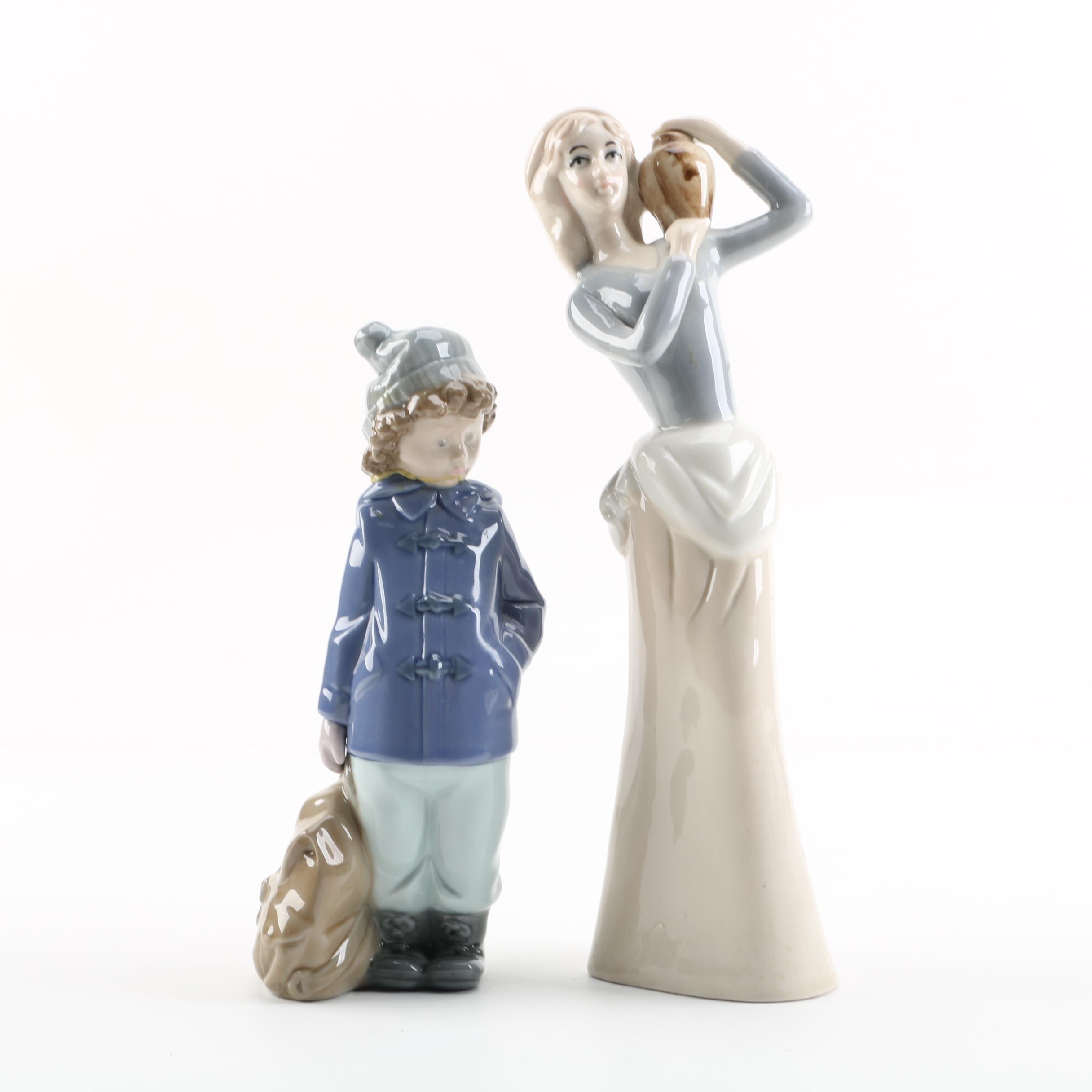 Nao by Lladó and other Porcelain Figurine