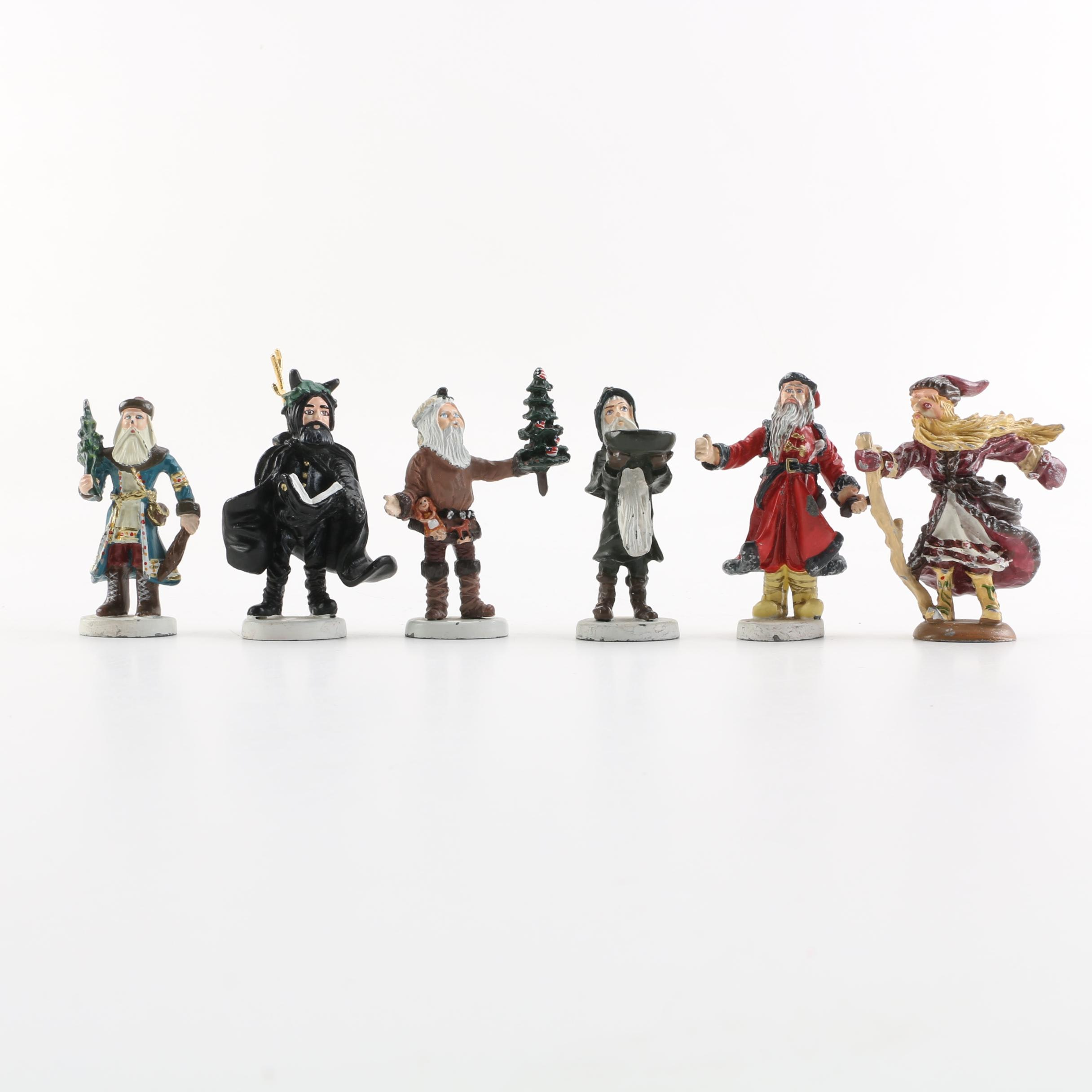 "Duncan Royale ""History of Santa"" Figurines Including ""Black Peter"""