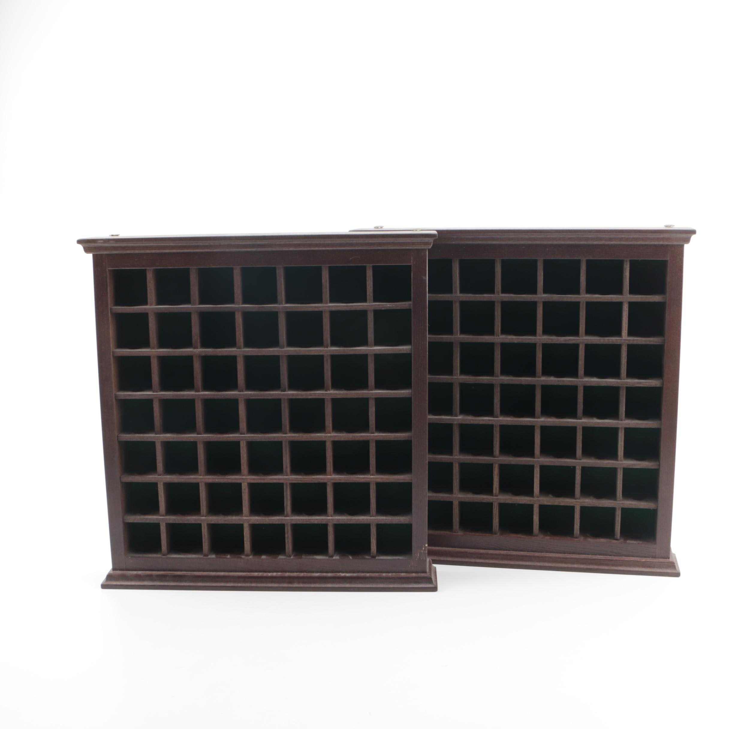 Decorative Wood Golf Ball Display Shelves