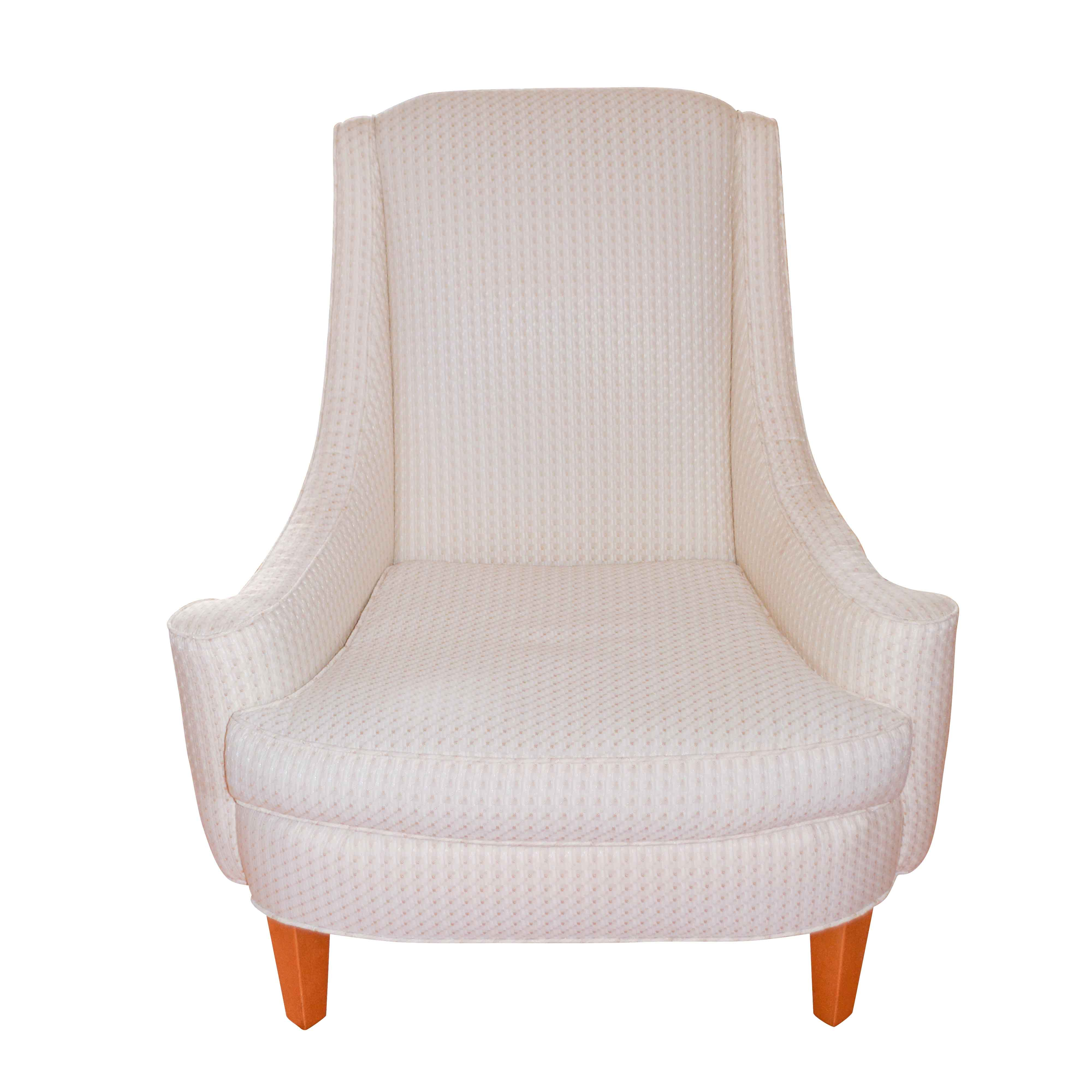 Upholstered Lounge Chair by Spicer's